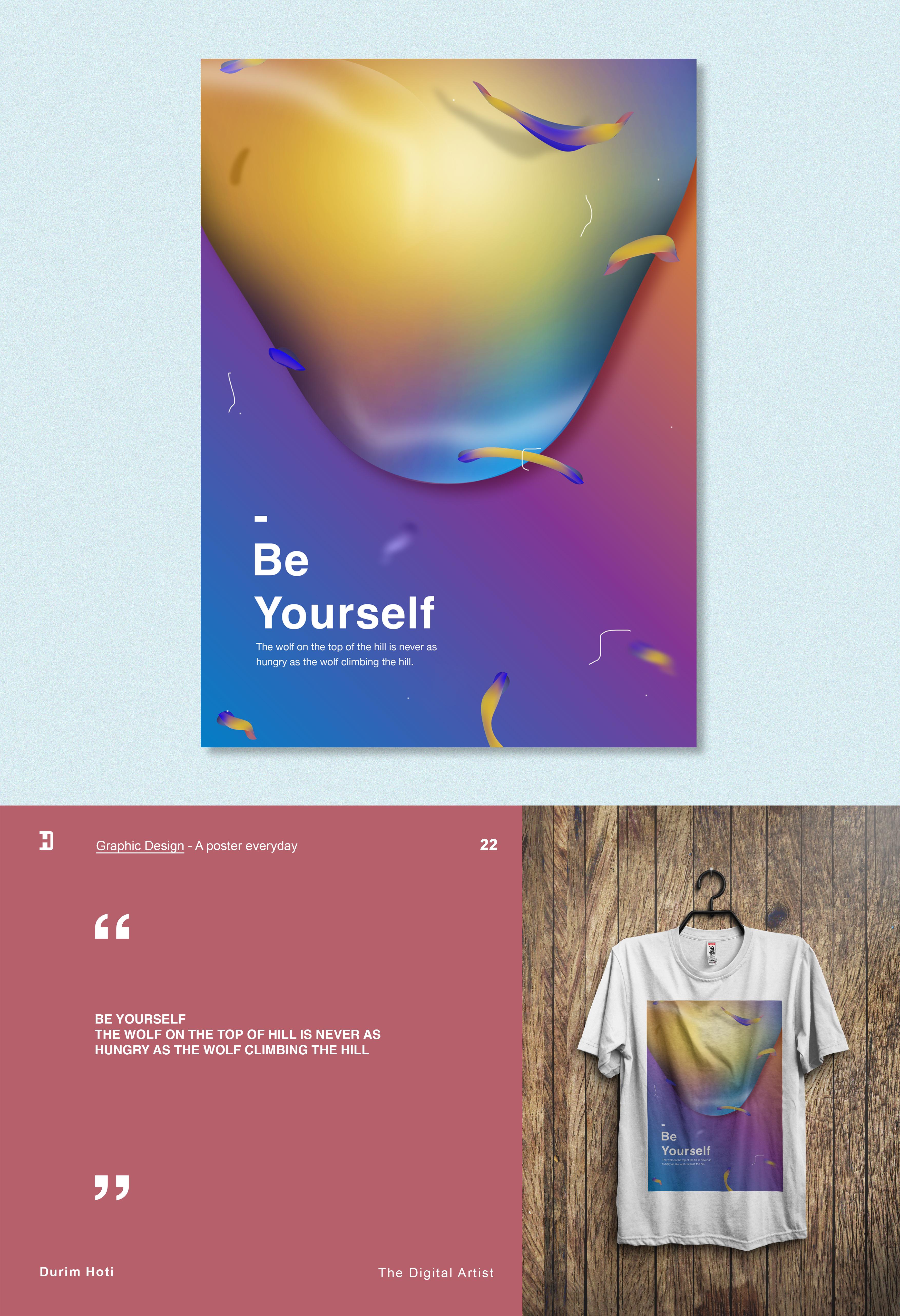 Design poster yourself - Design Poster Yourself 53