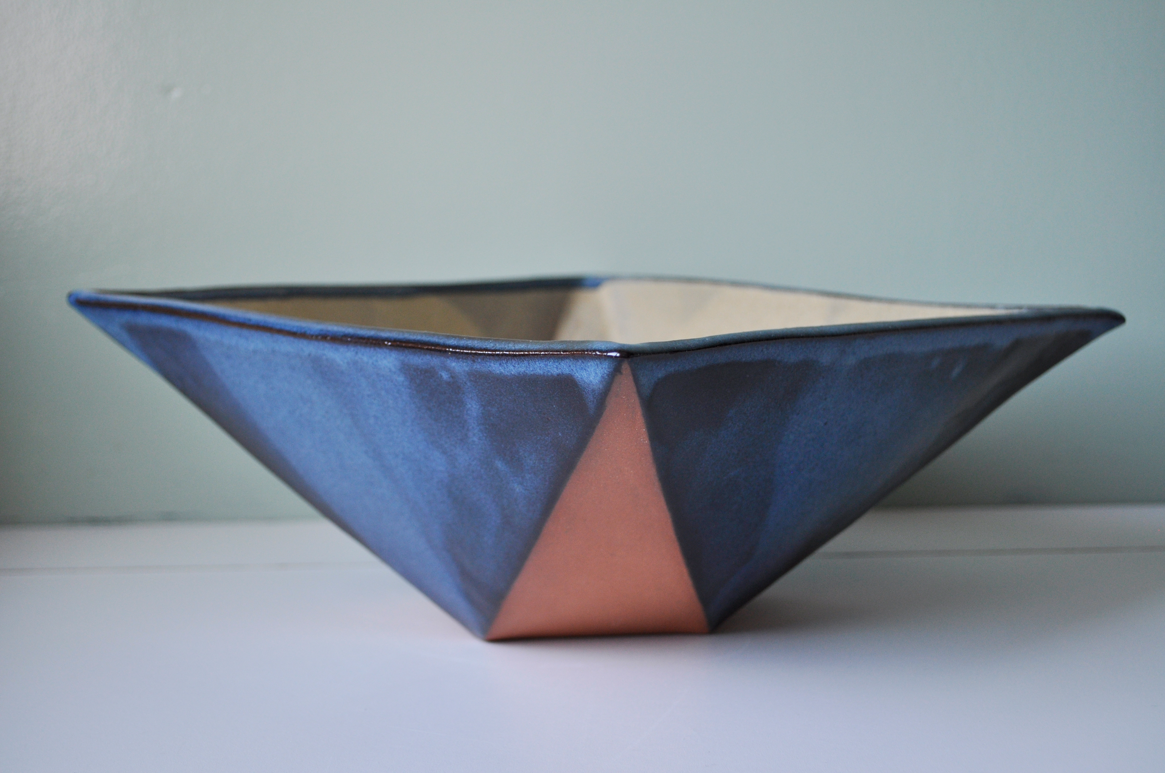 Mary louise wang hand built ceramics hand built ceramic serving bowls and vase the geometric bowls and vase were created using the slab technique while the circular bowls were created using reviewsmspy