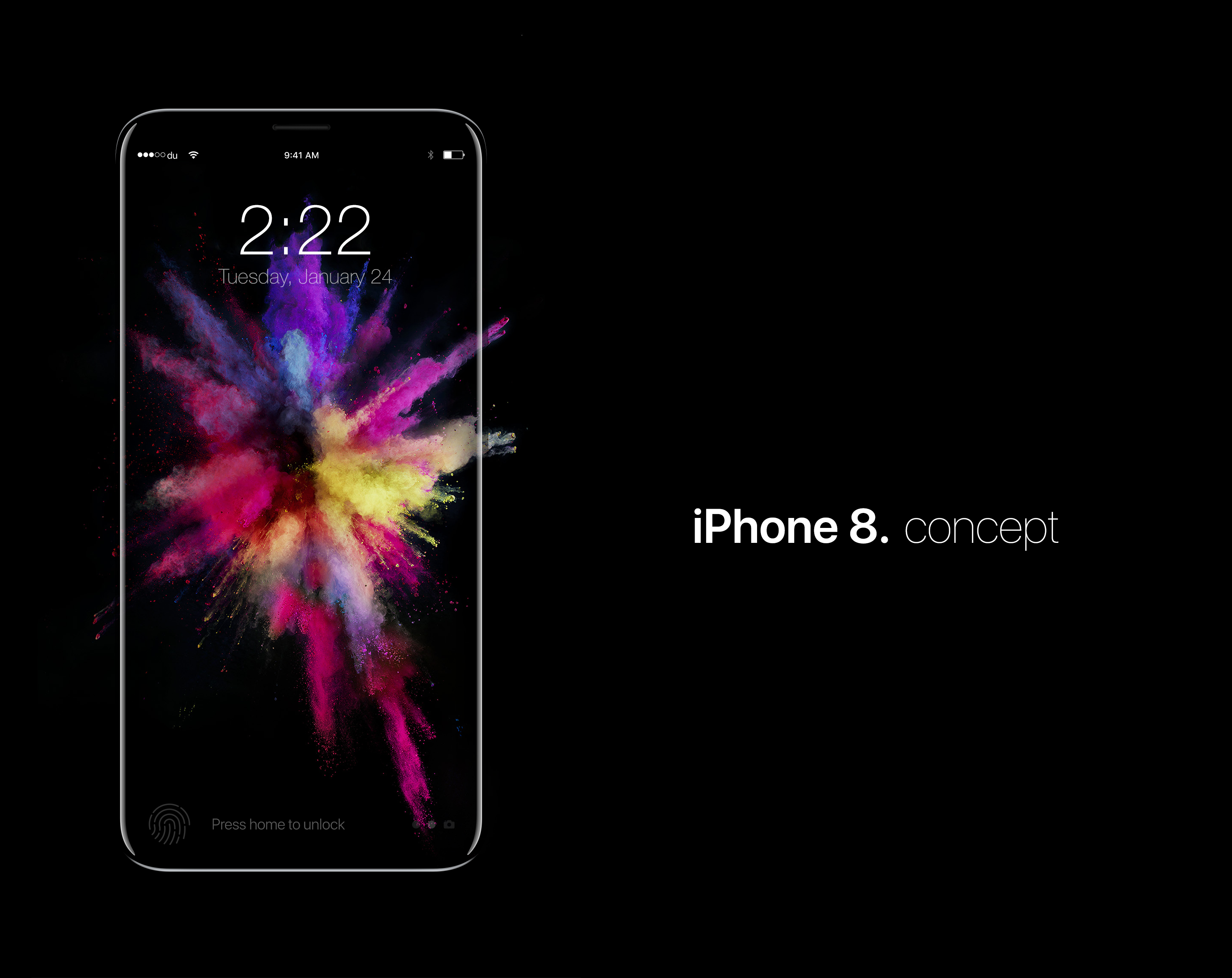 IPhone 8 Concept On Behance