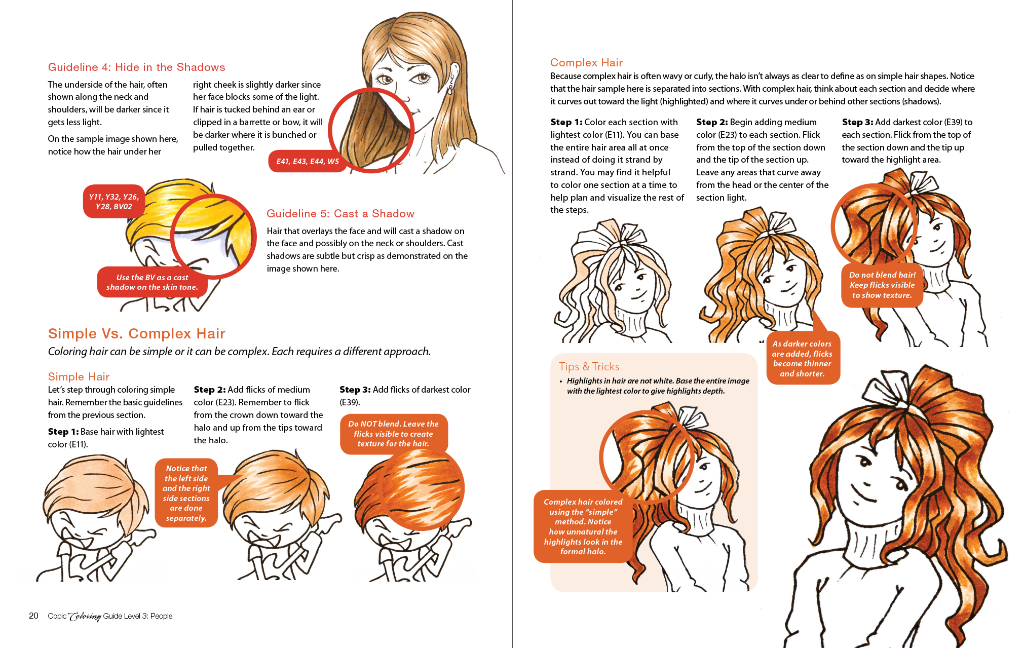 Nicole Gage - Copic Coloring Guides