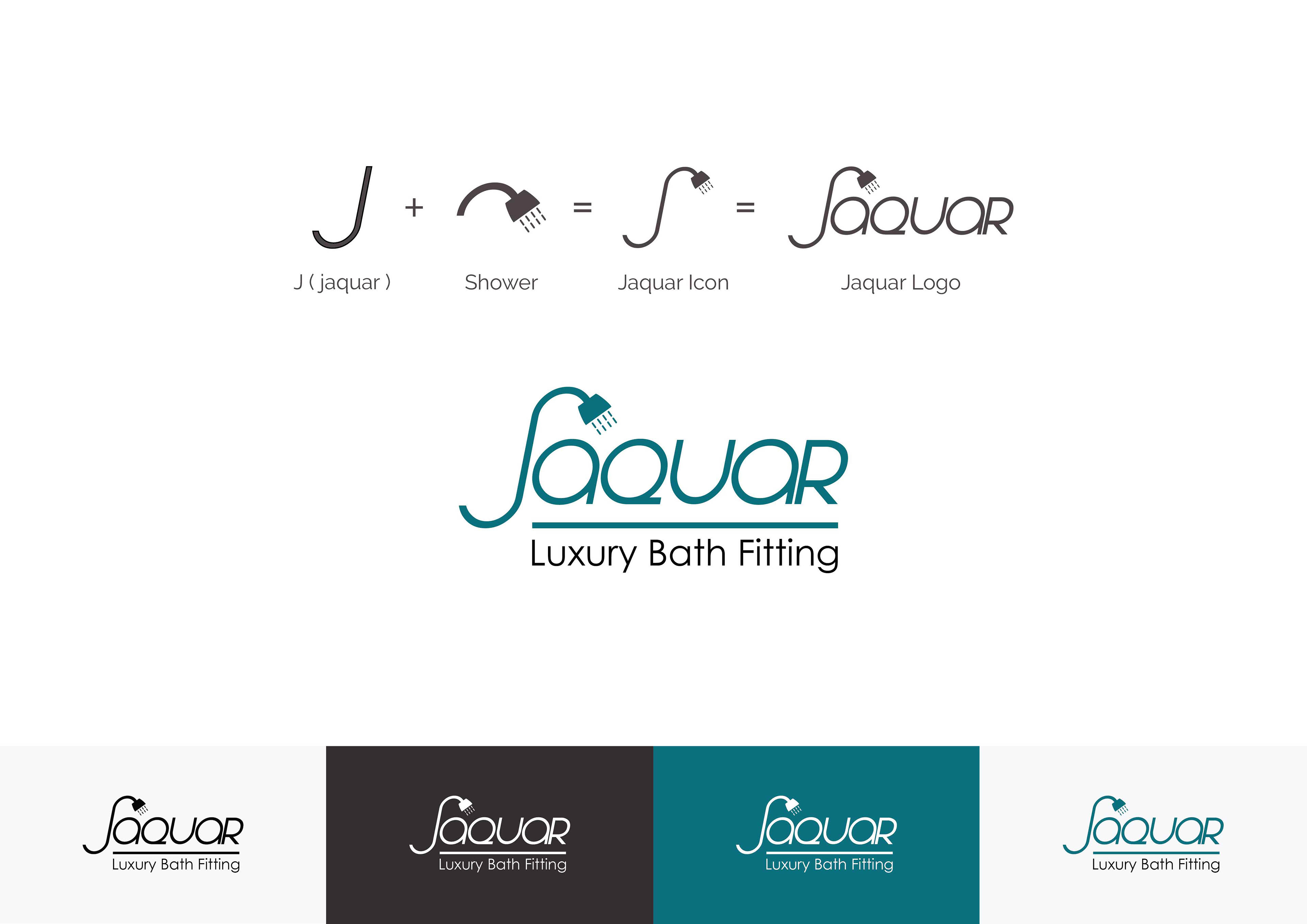Jaquar bathroom fittings pune -  Jaquar Experience Bathing Redesigning Logo On Behance