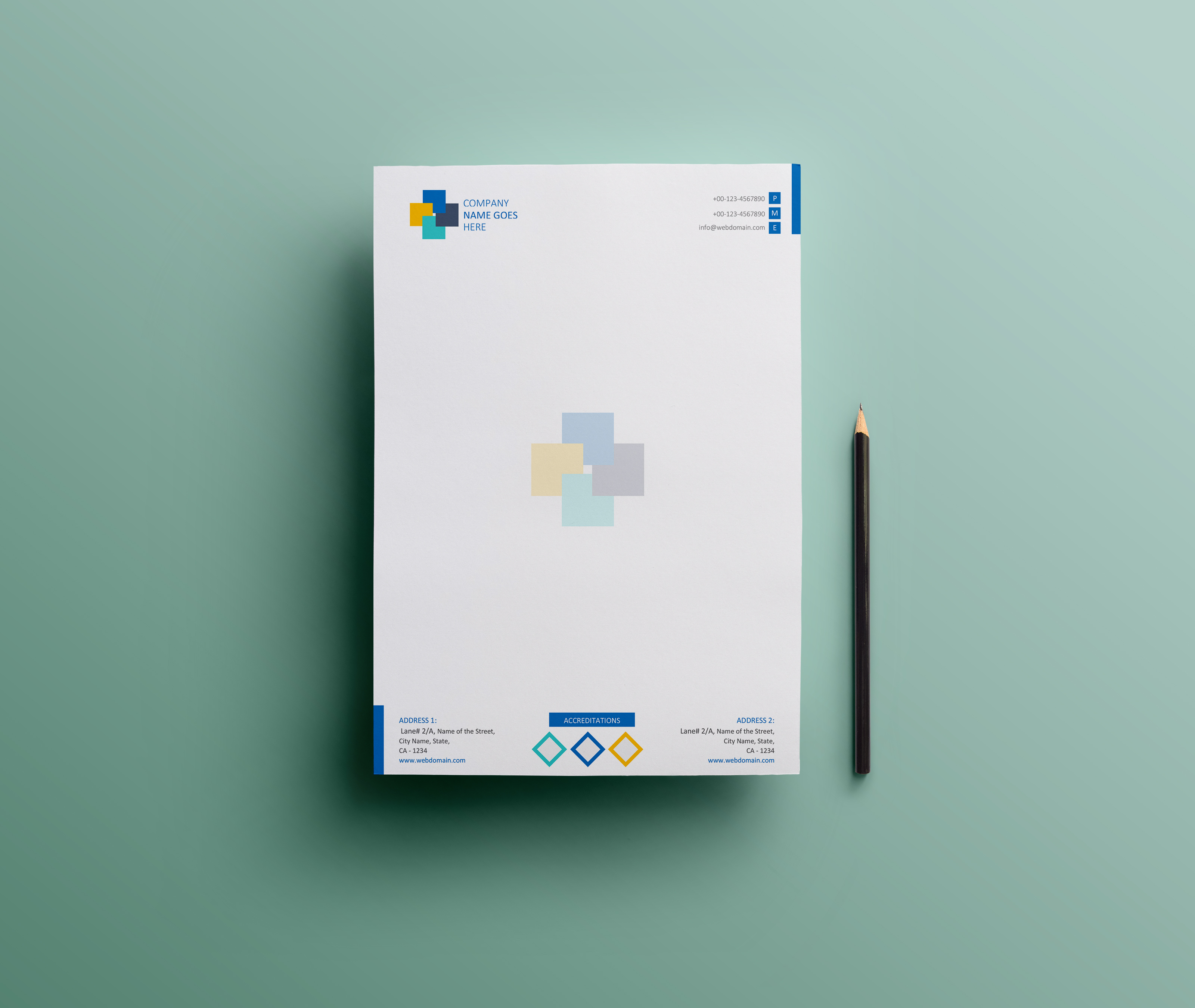 most appreciated projects on behance simple letterhead design ms word version