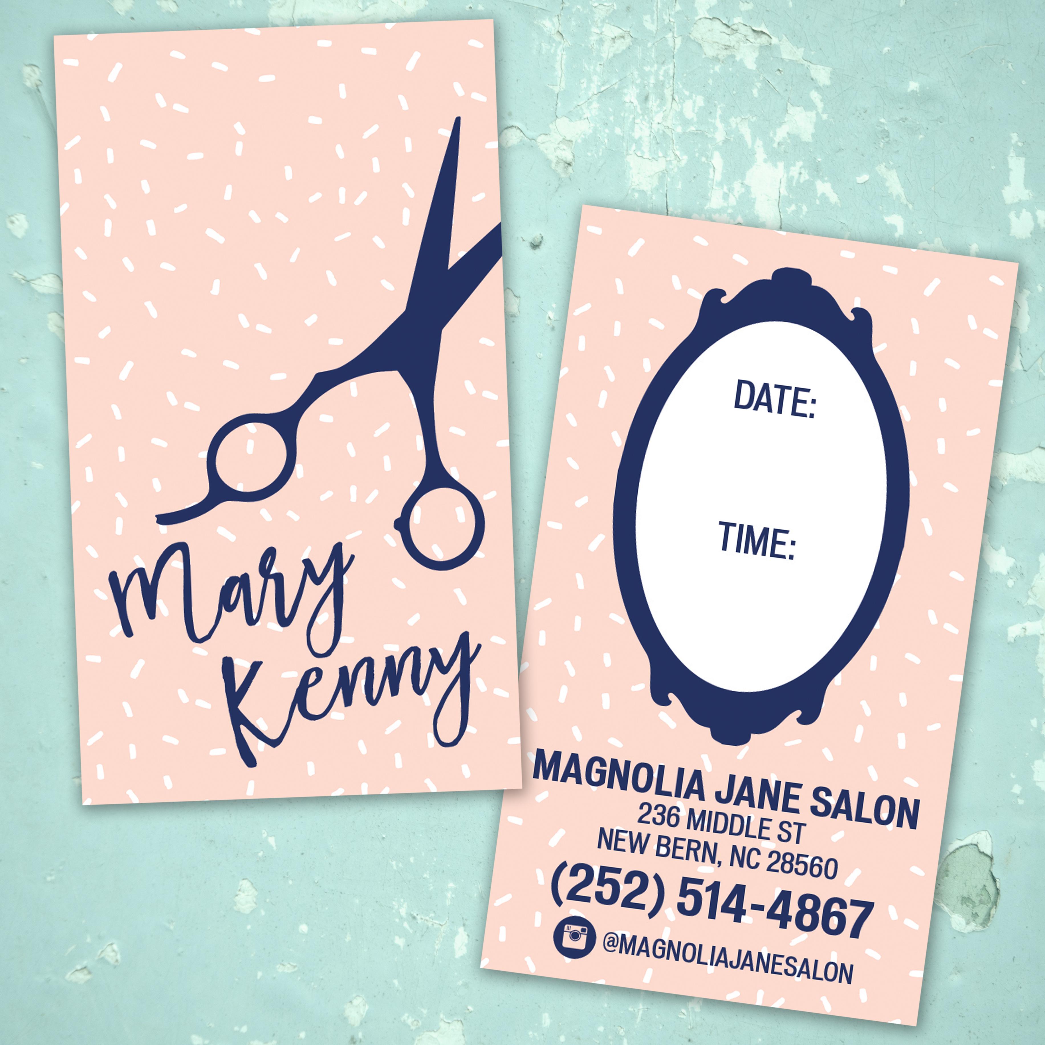 Hair Stylist Business Cards on Behance