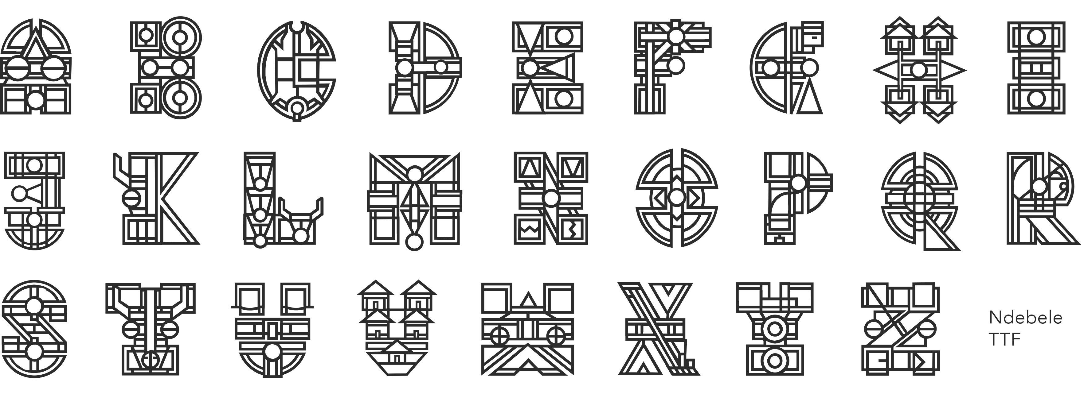Paint Drip Melt Fonts - best menu template design