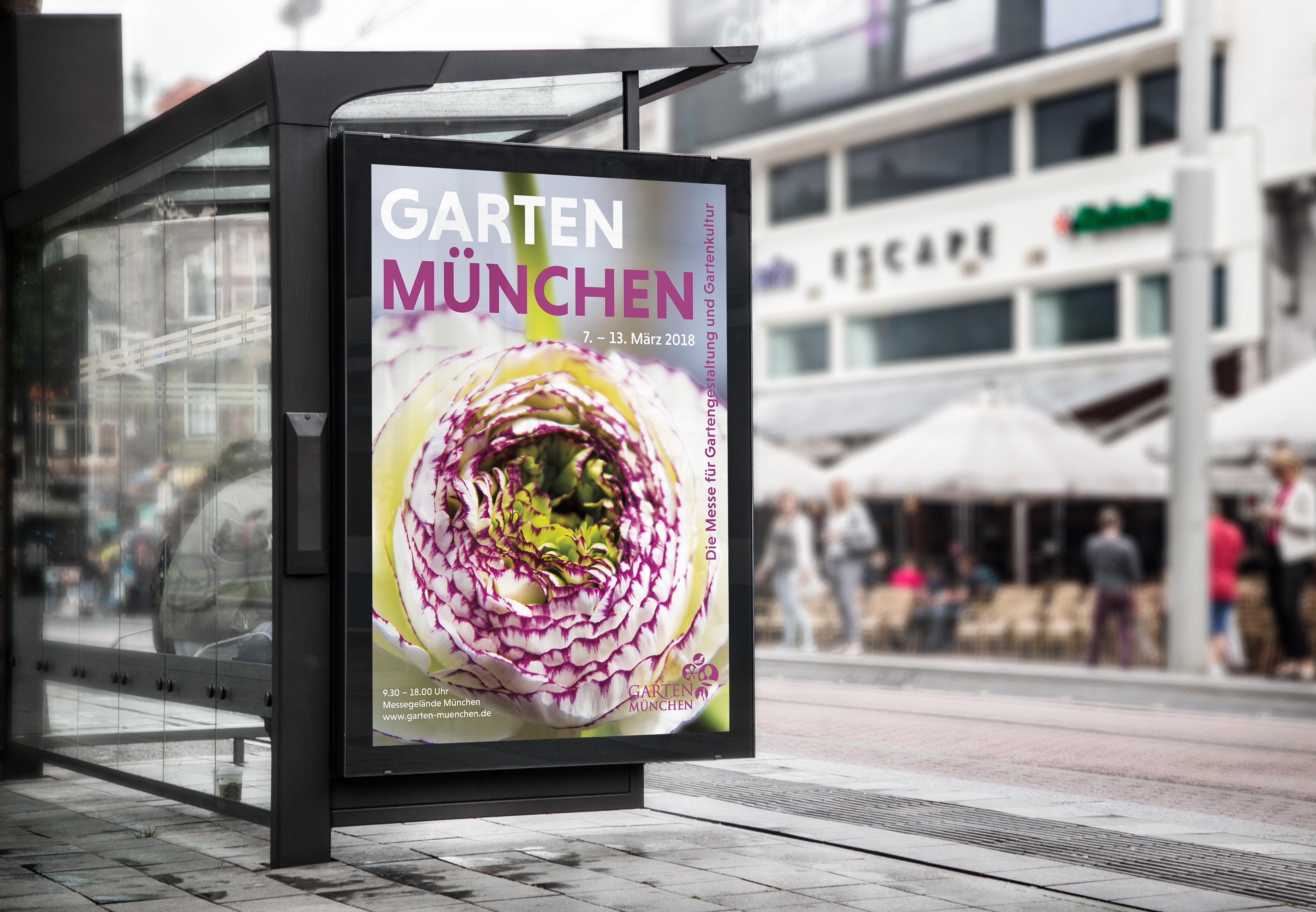 Poster Garten München On Behance