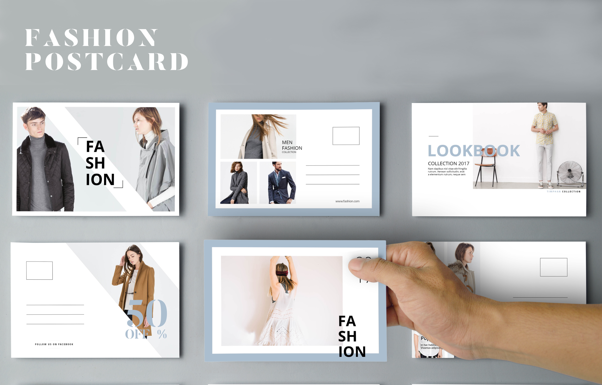 Ladypreneur Fashion Postcard Flyers  Set Of  Editorial Postcards