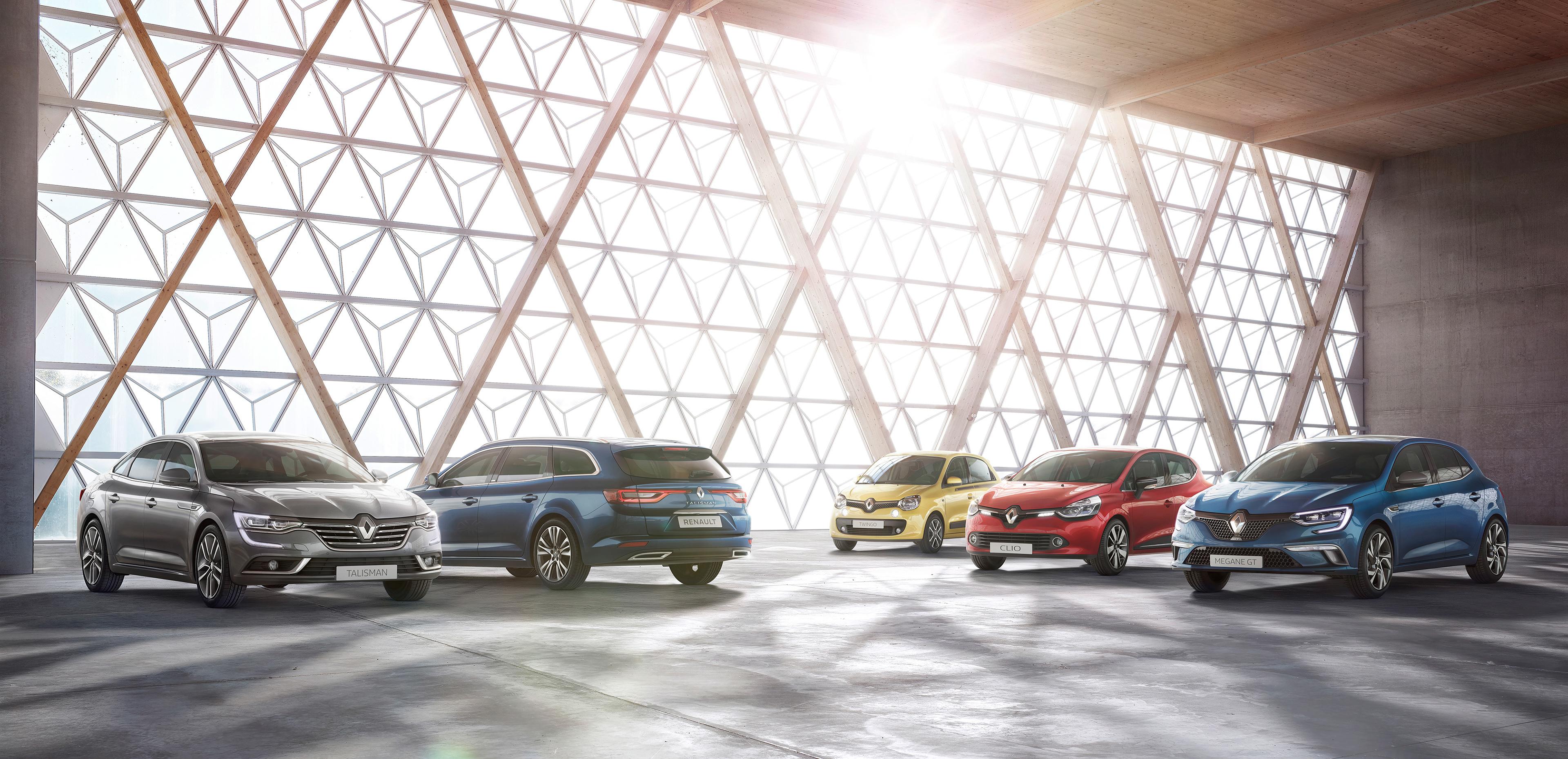 Renault Car Range Cgi On Behance