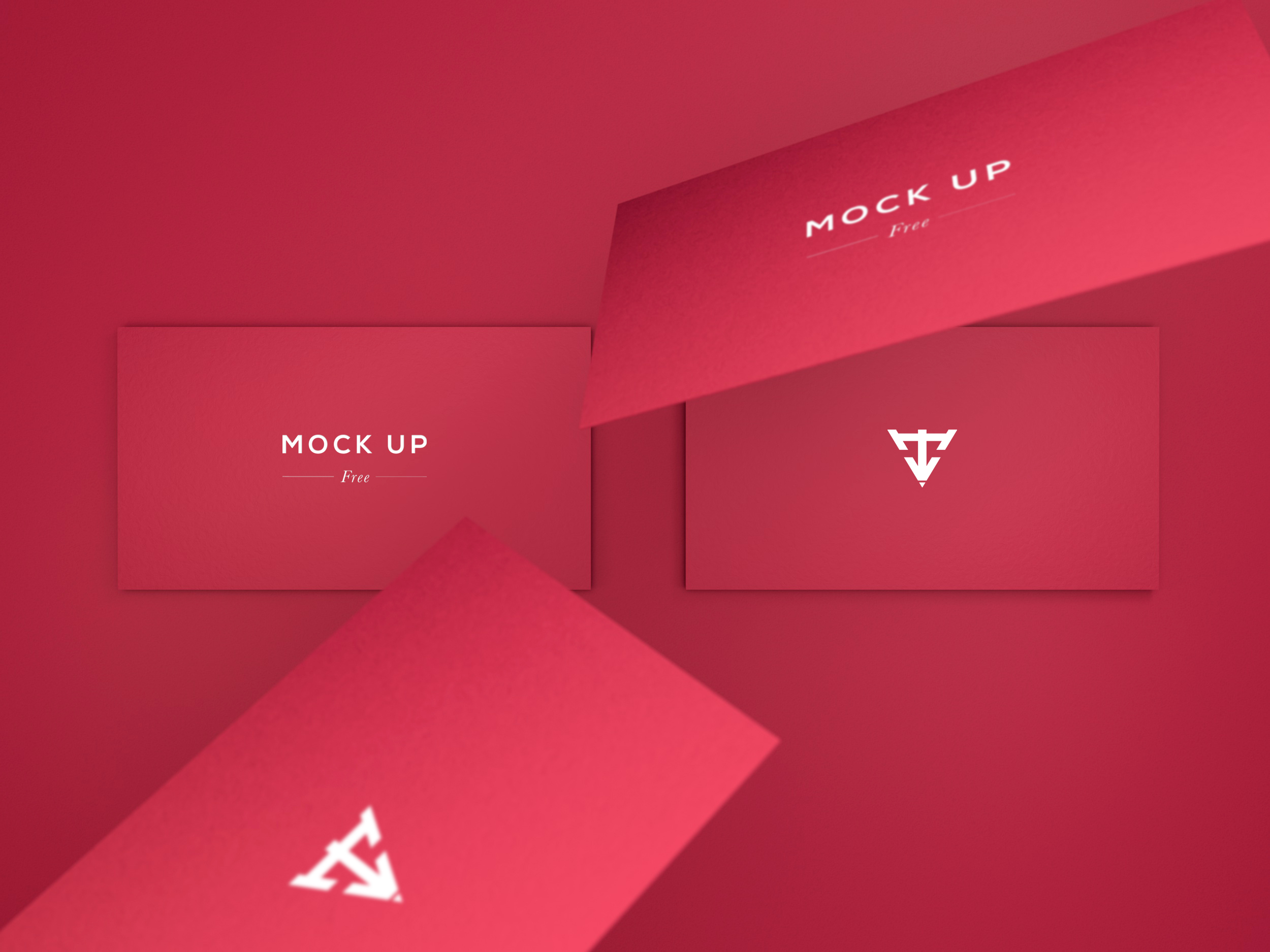 6 business cards mock up free psd on behance