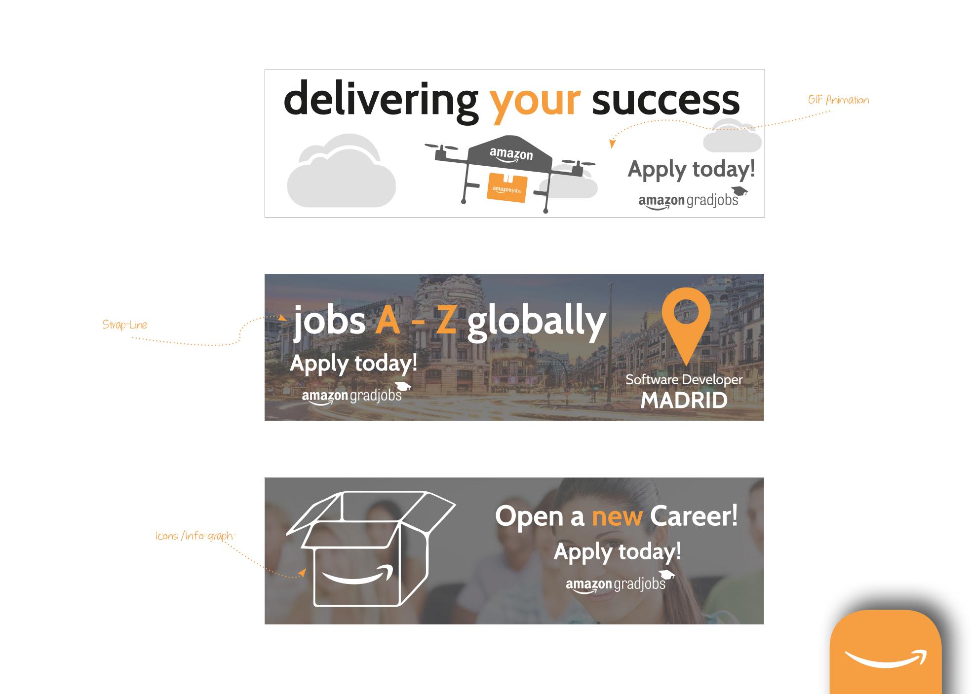 Amazon Jobs Website Redesign Concept On Behance