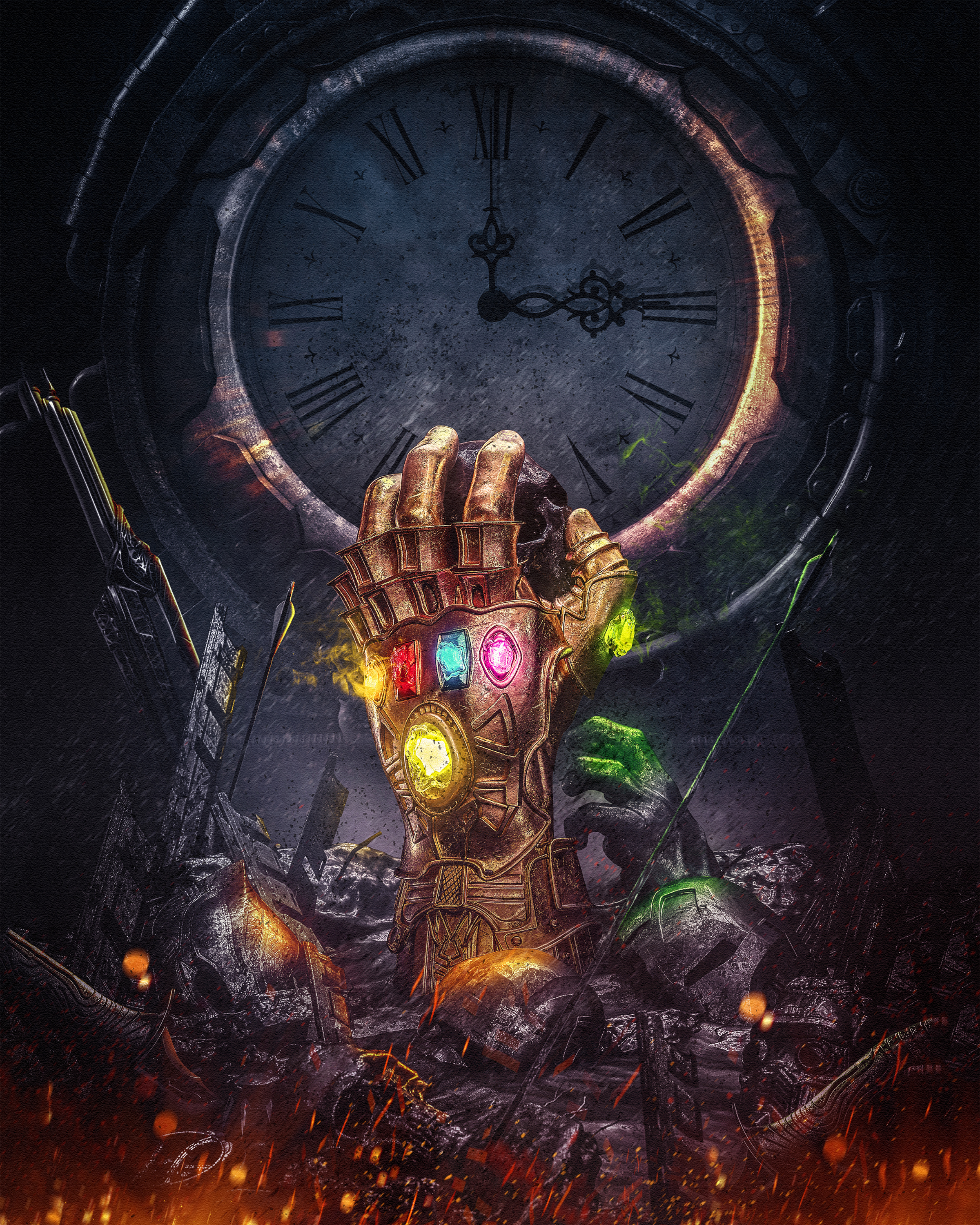 Billelis's Illustration Tribute to Avengers: Infinity War
