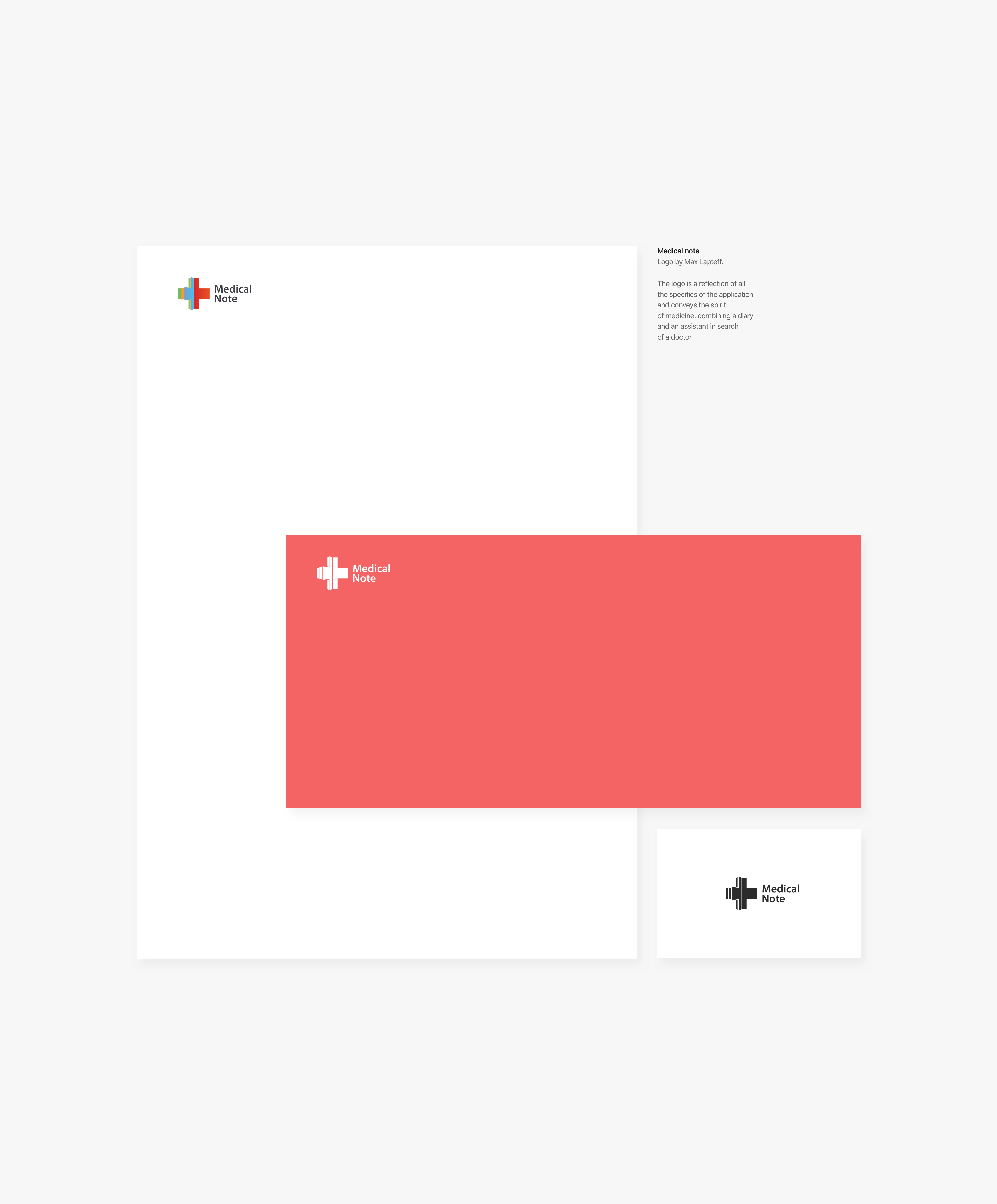 Medical Note On Behance