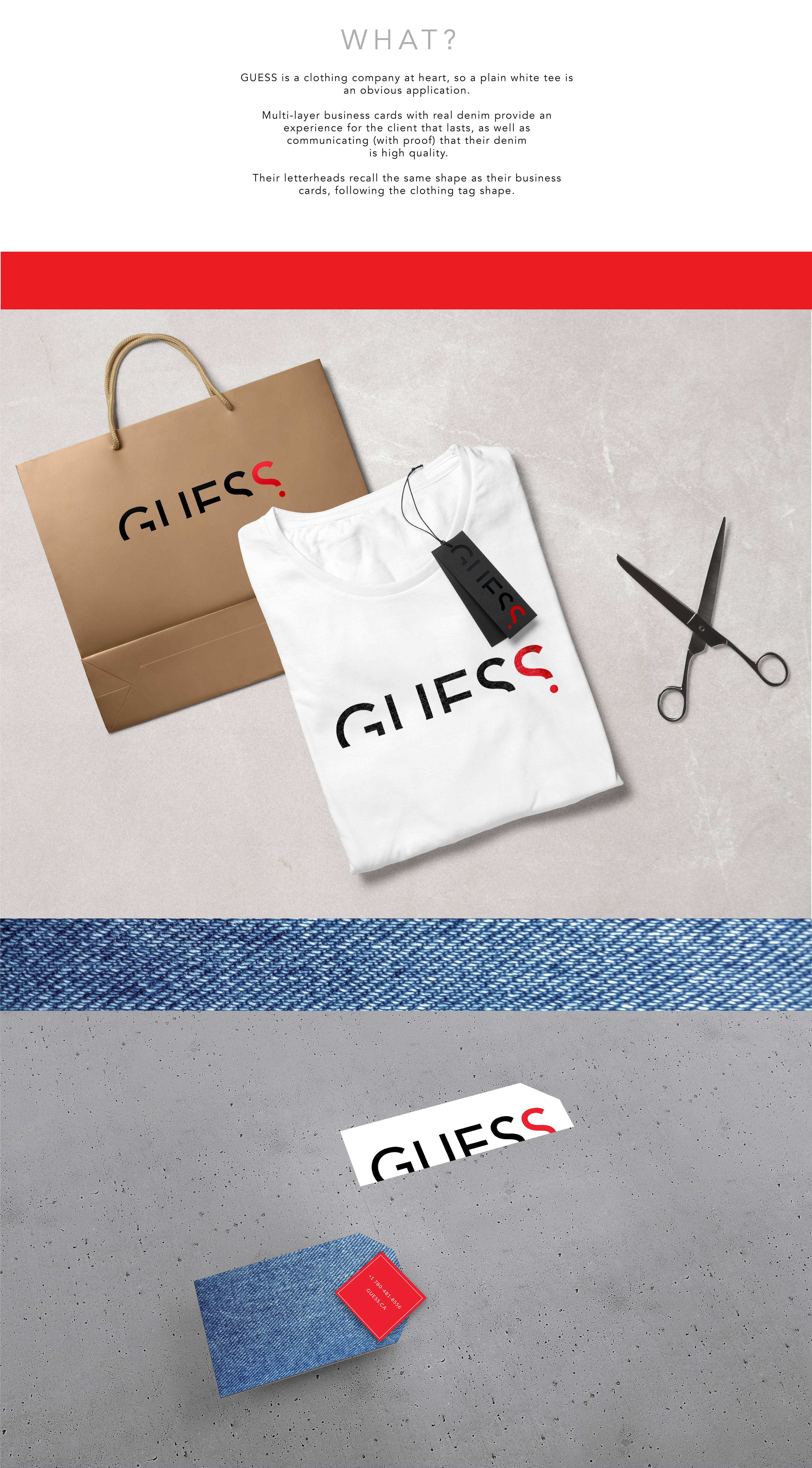guess clothing pany rebrand on behance