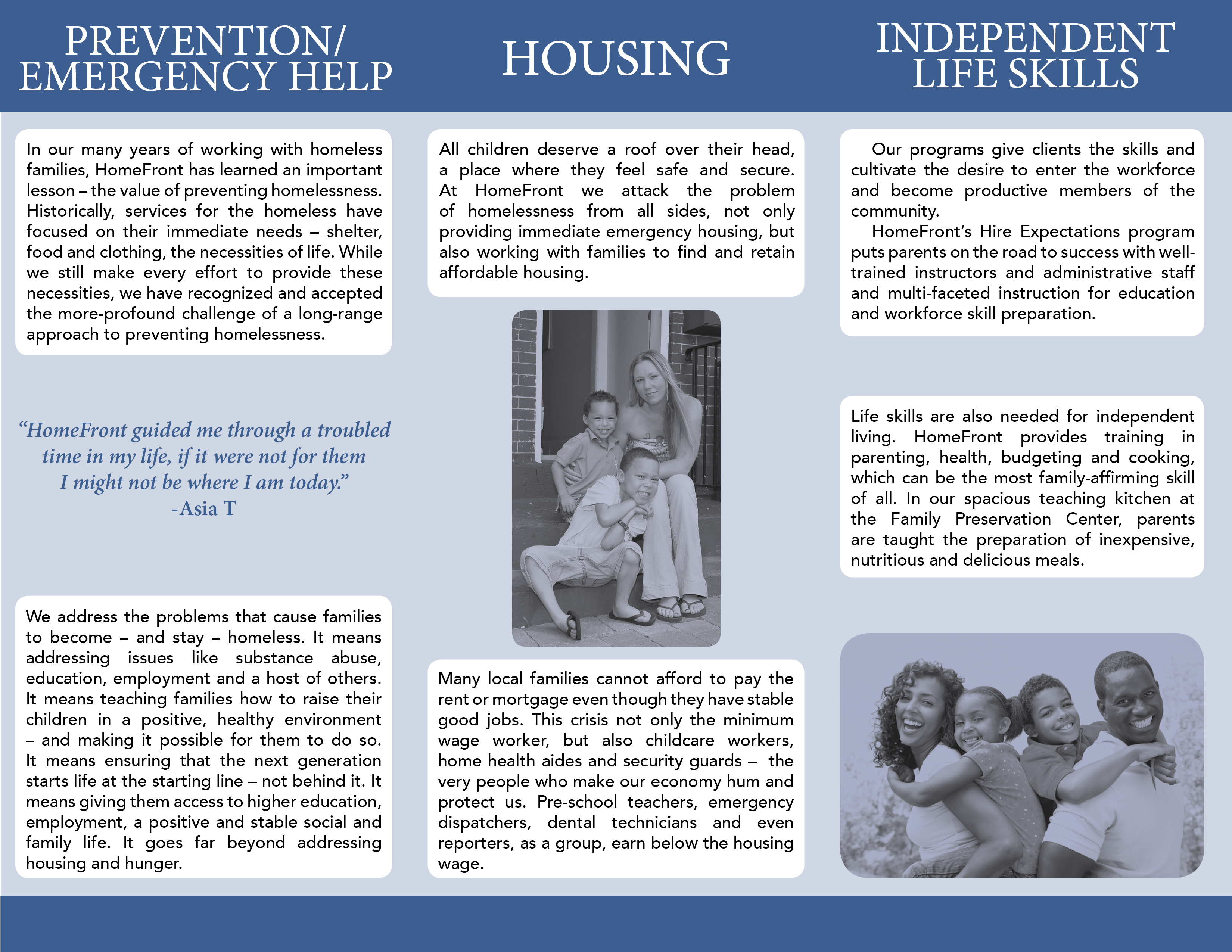 homefront tri fold brochure on behance rh behance net Home On the Homefront guided reading activity lesson 2 the homefront