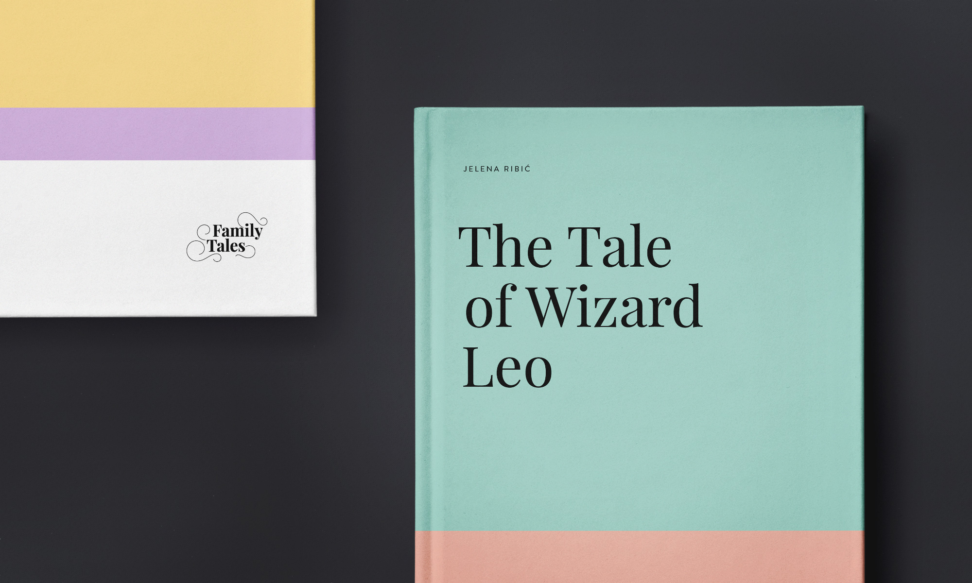 Branding & Art Direction: Family Tales Book