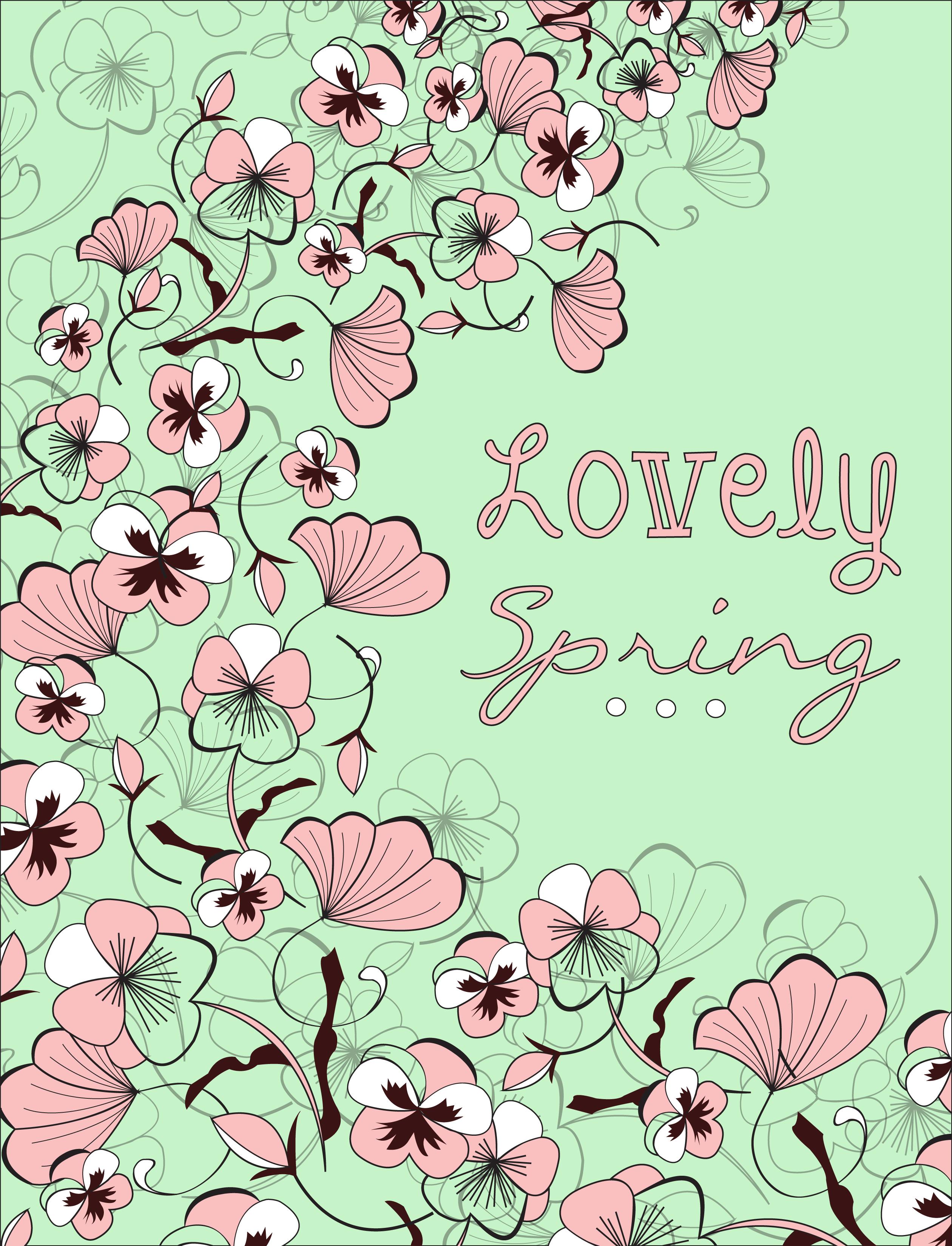 Ashley Kochiss Floral Card