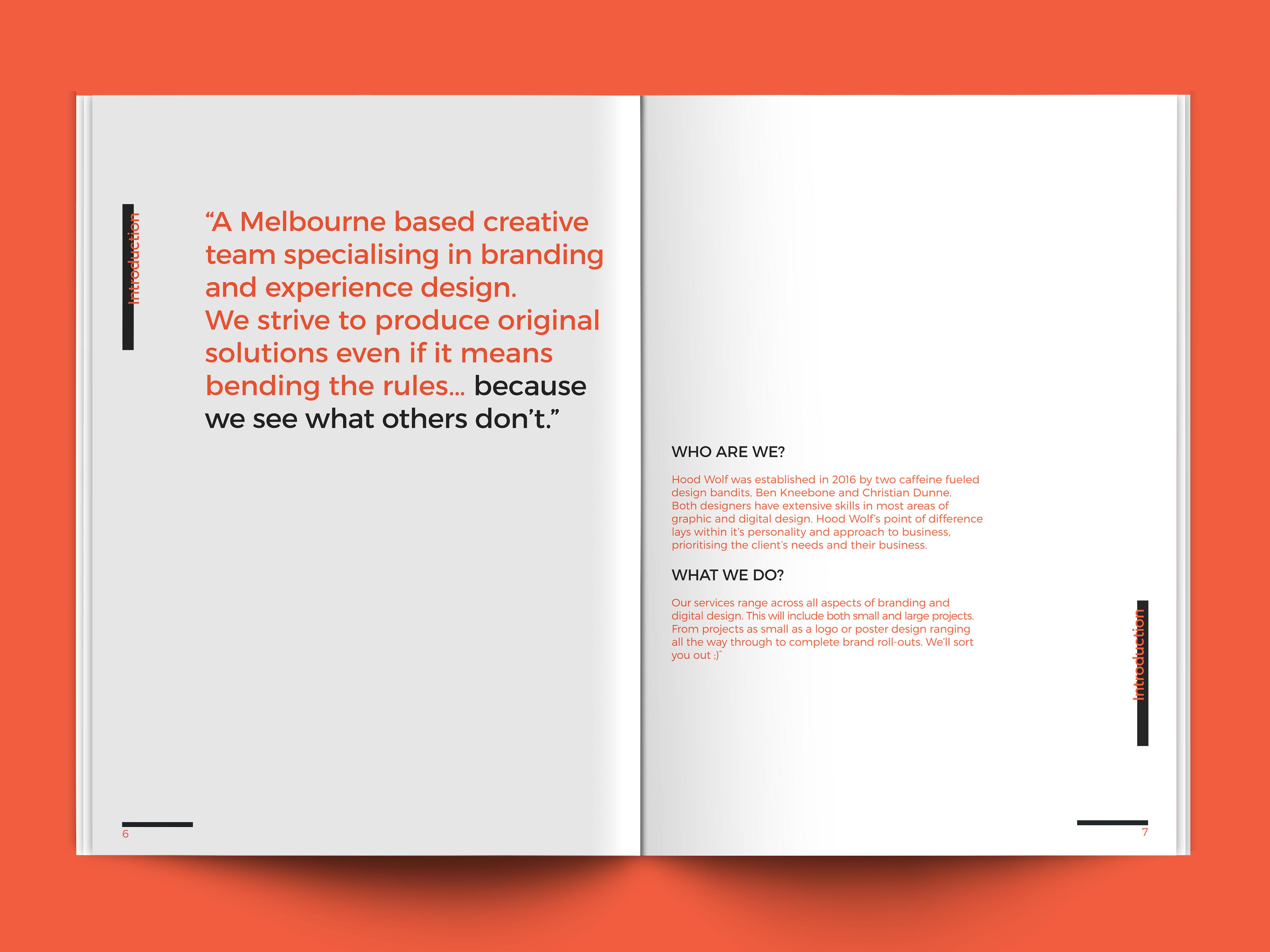 Christian Dunne - Hood Wolf Brand Guidelines