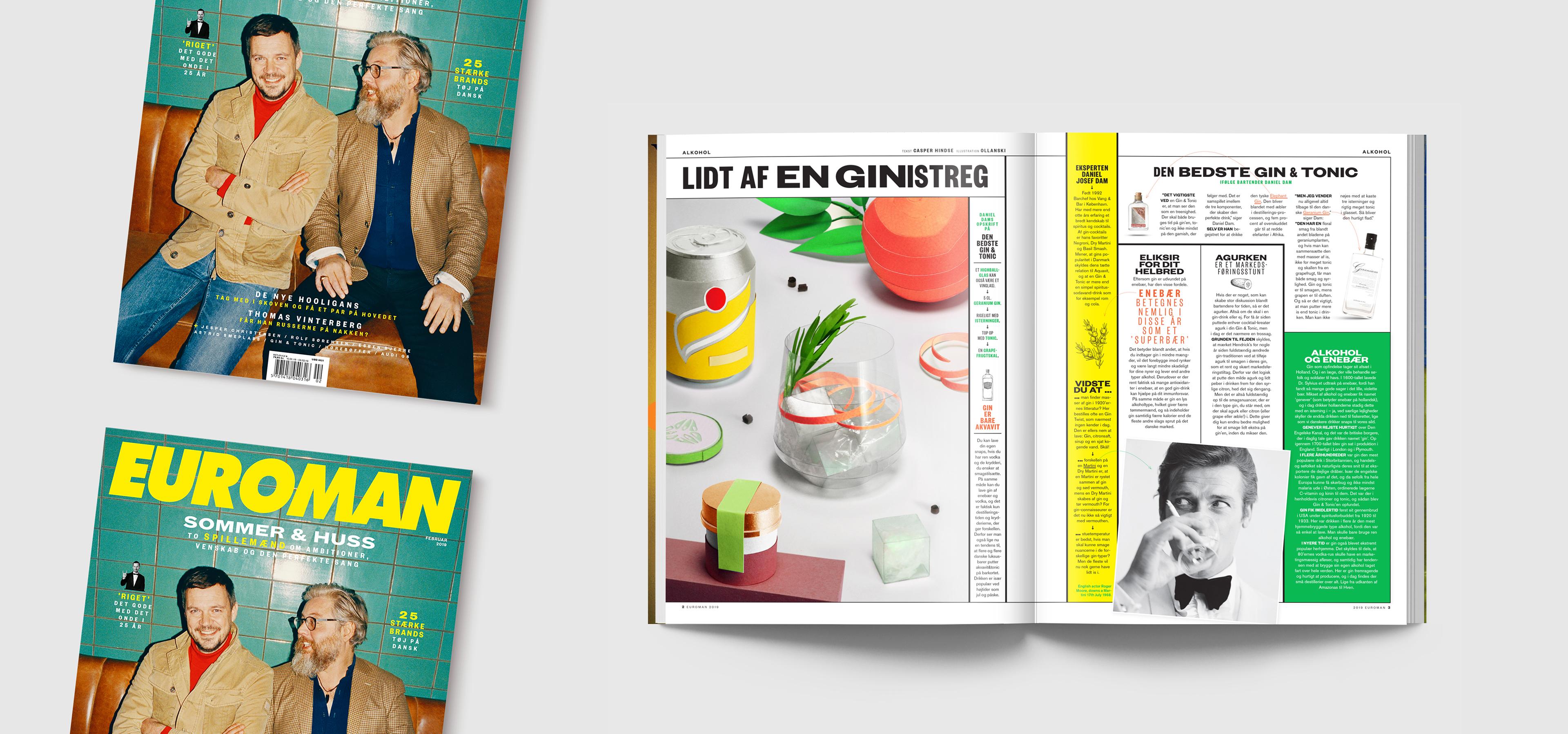 5d62e01173a4 EUROMAN magazine - Editorial Illustration on Behance