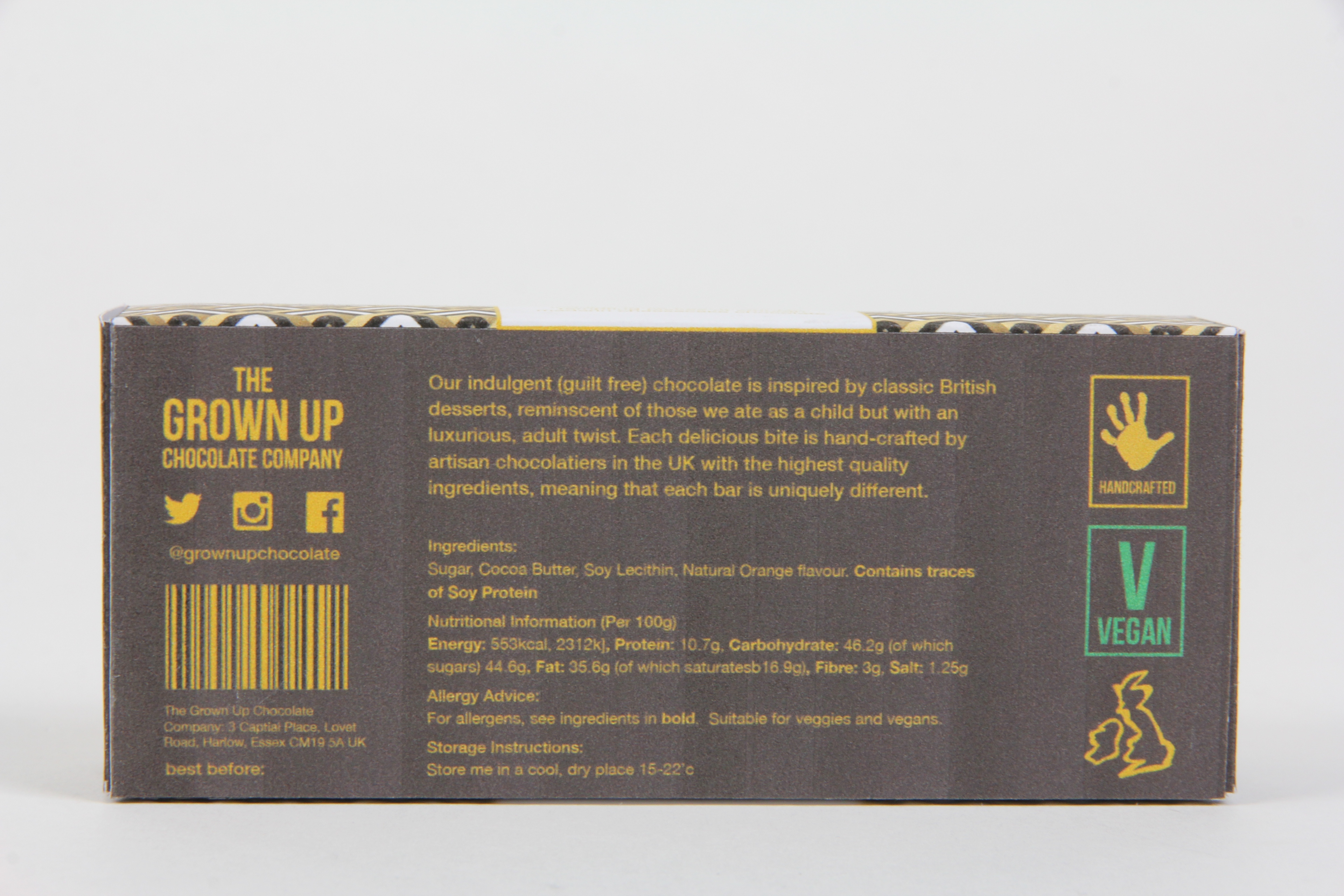 Ycn The Grown Up Chocolate Company Freefrom Packaging On