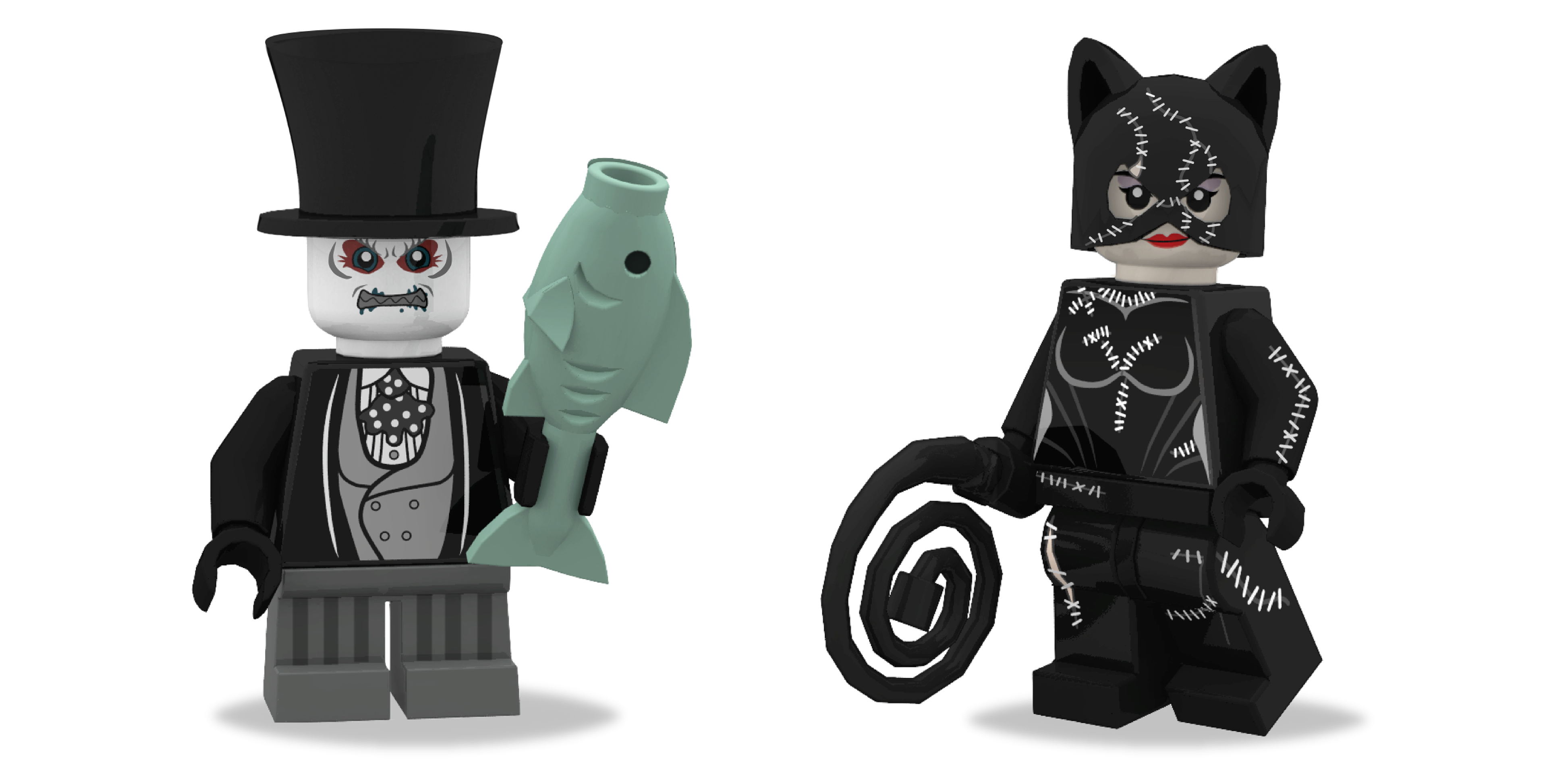 Lego batman movie villain designs on behance