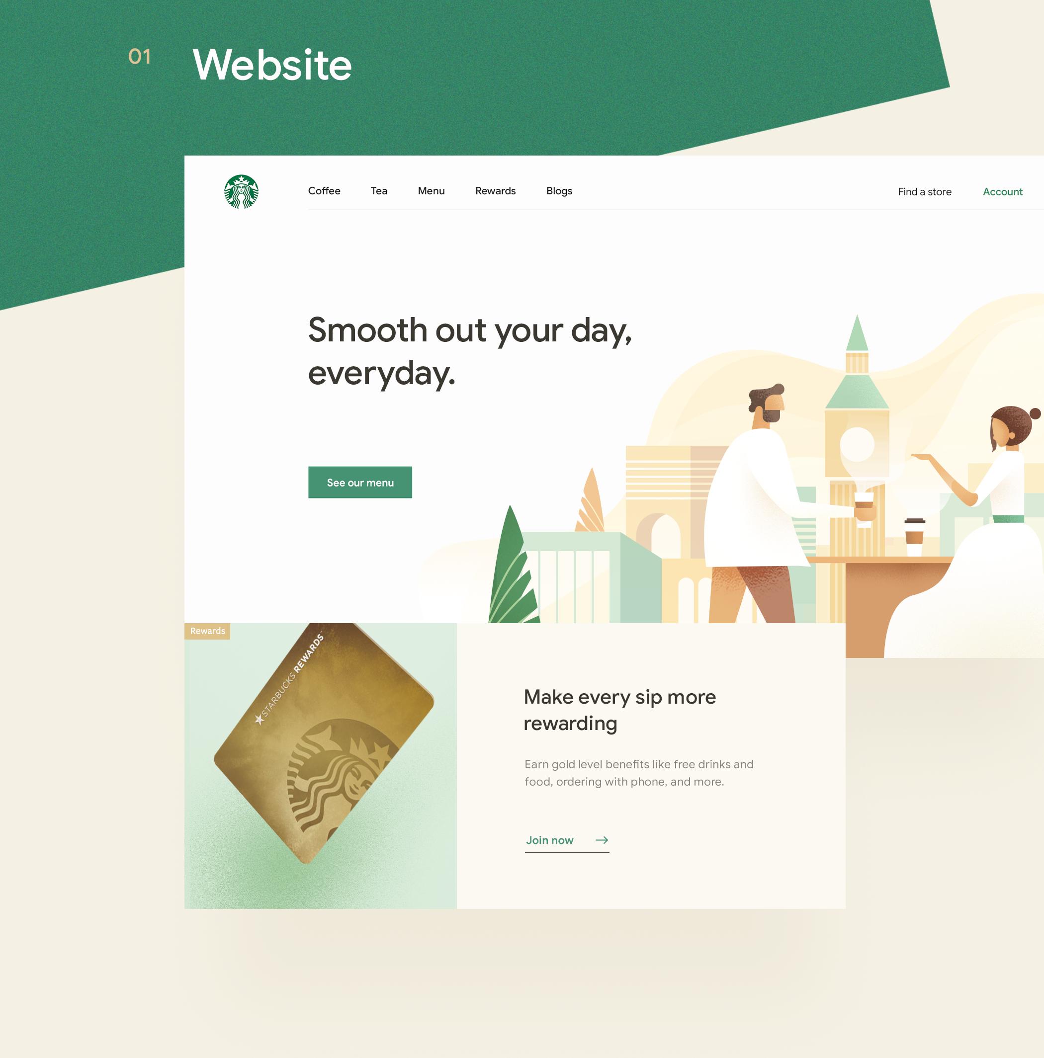 UI/UX Redesign Concept: Starbucks Mobile App