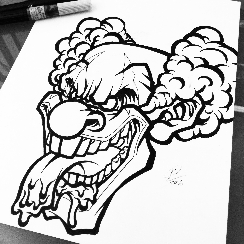 Crossfit Logo Clown
