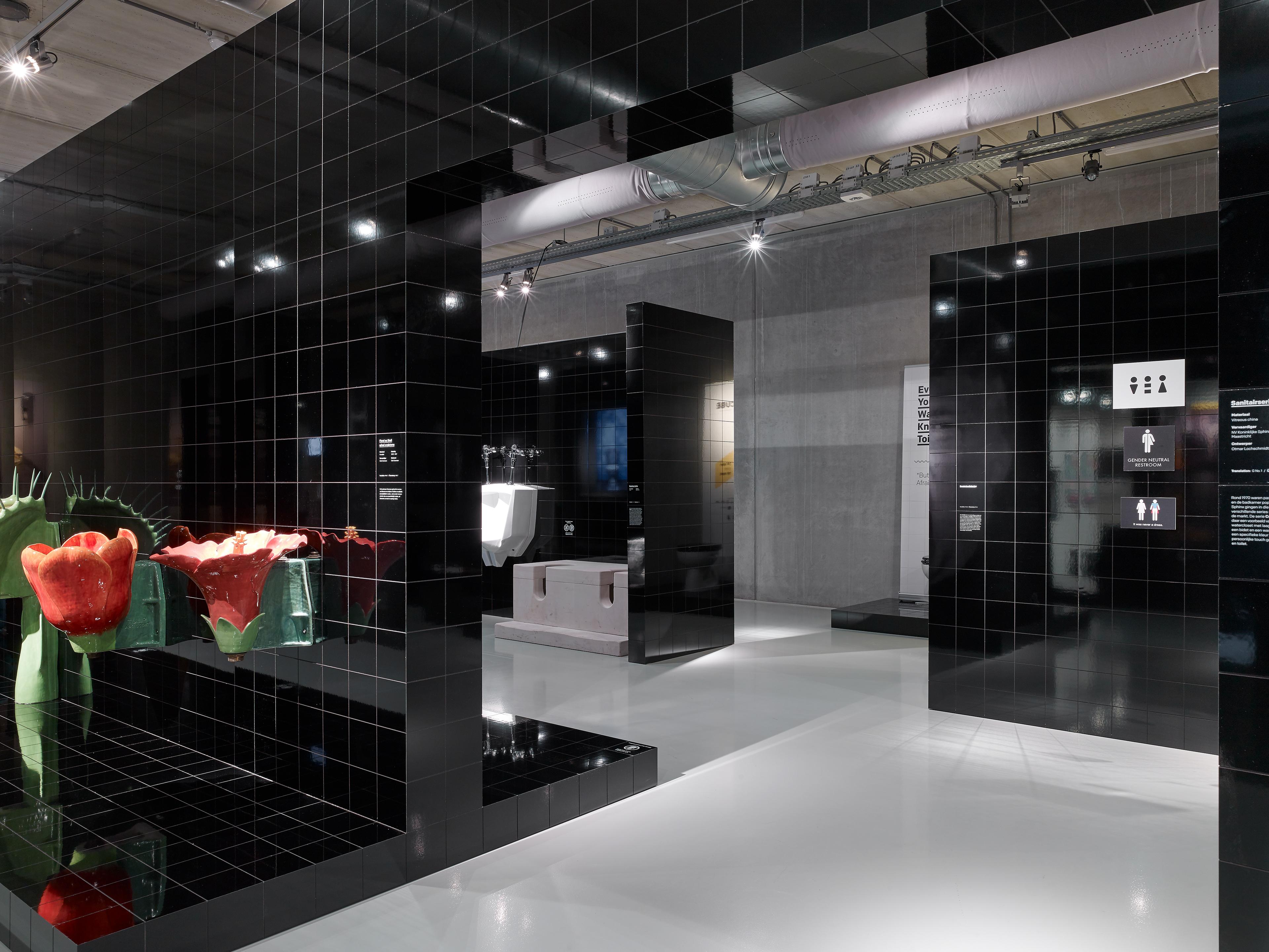 Badkamer Design Maastricht : Exhibition cube design museum on behance