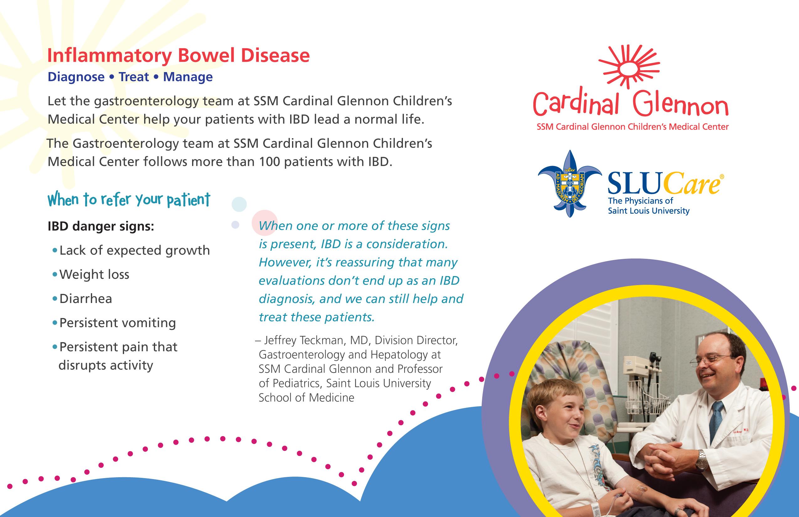 Emily Miller - Cardinal Glennon Children's Hospital Postcard