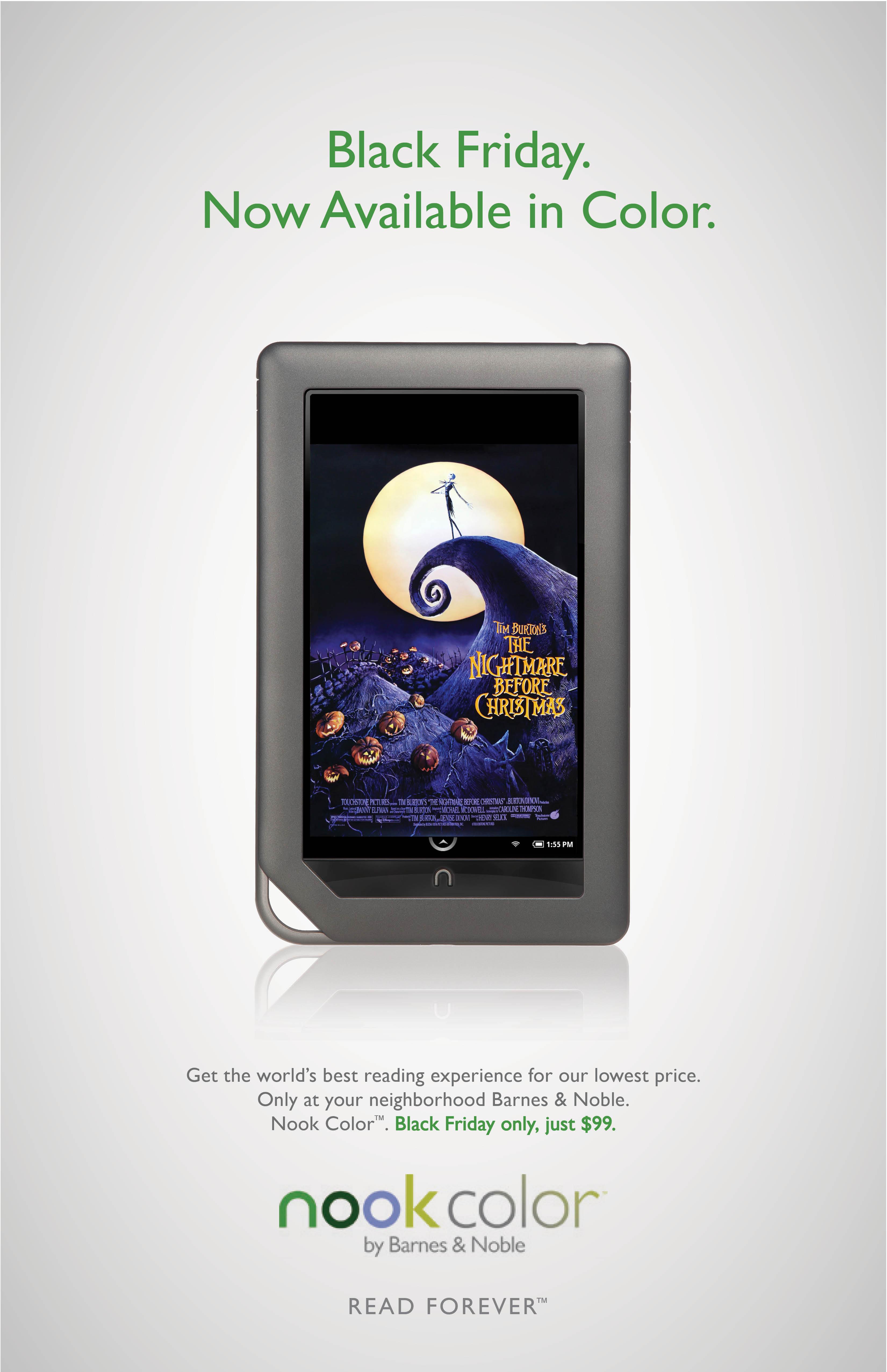 Barnes & Noble NOOK - Black Friday on Behance