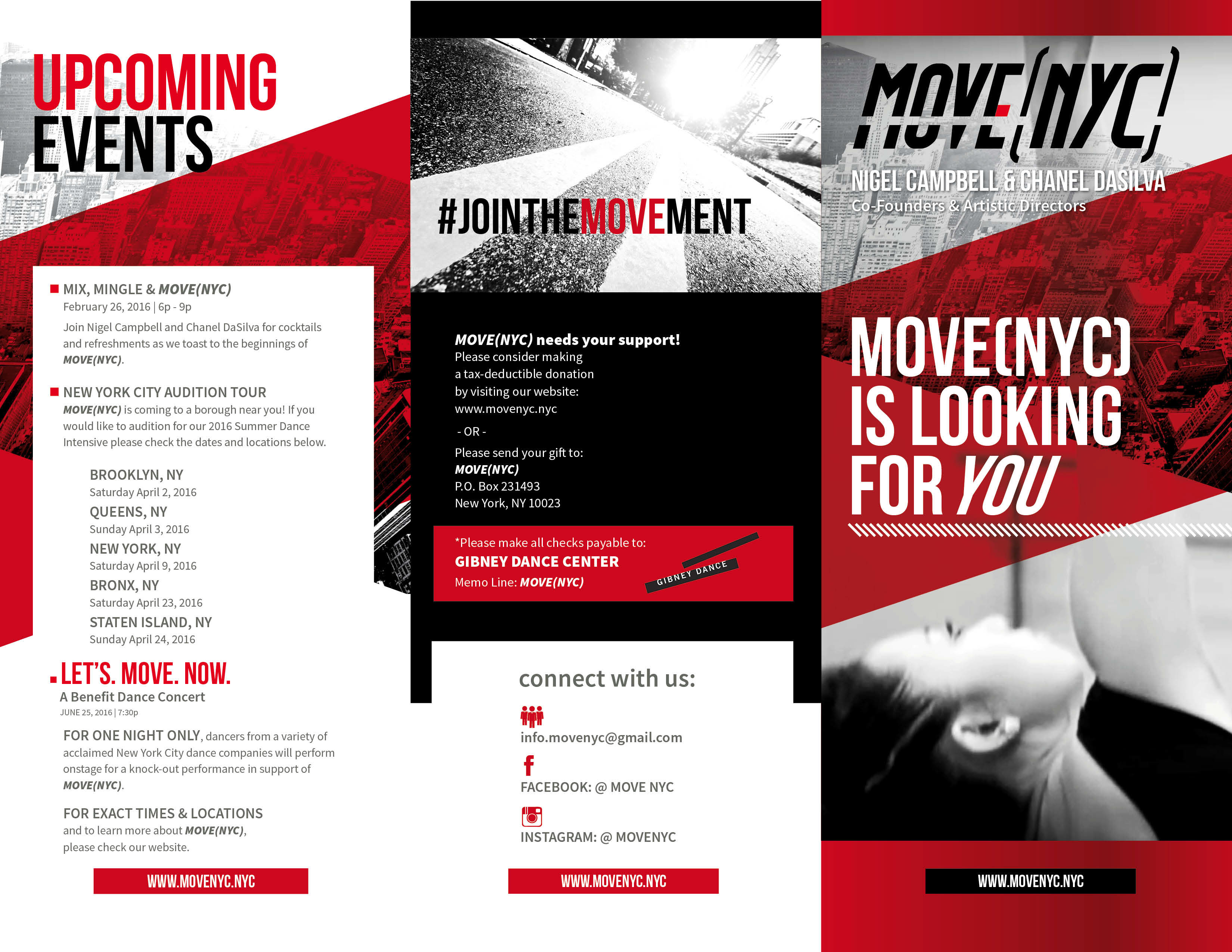 Caitlin Lewis - MOVE(NYC): Marketing Campaign