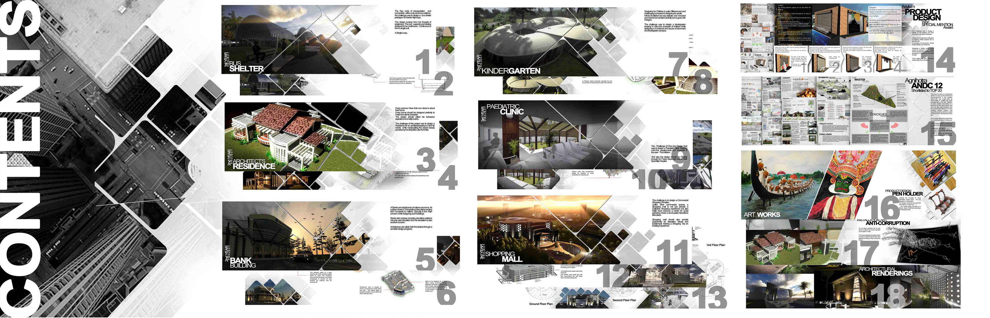 Architecture Portfolio Of Anuvind MS ( Internship ) On Behance