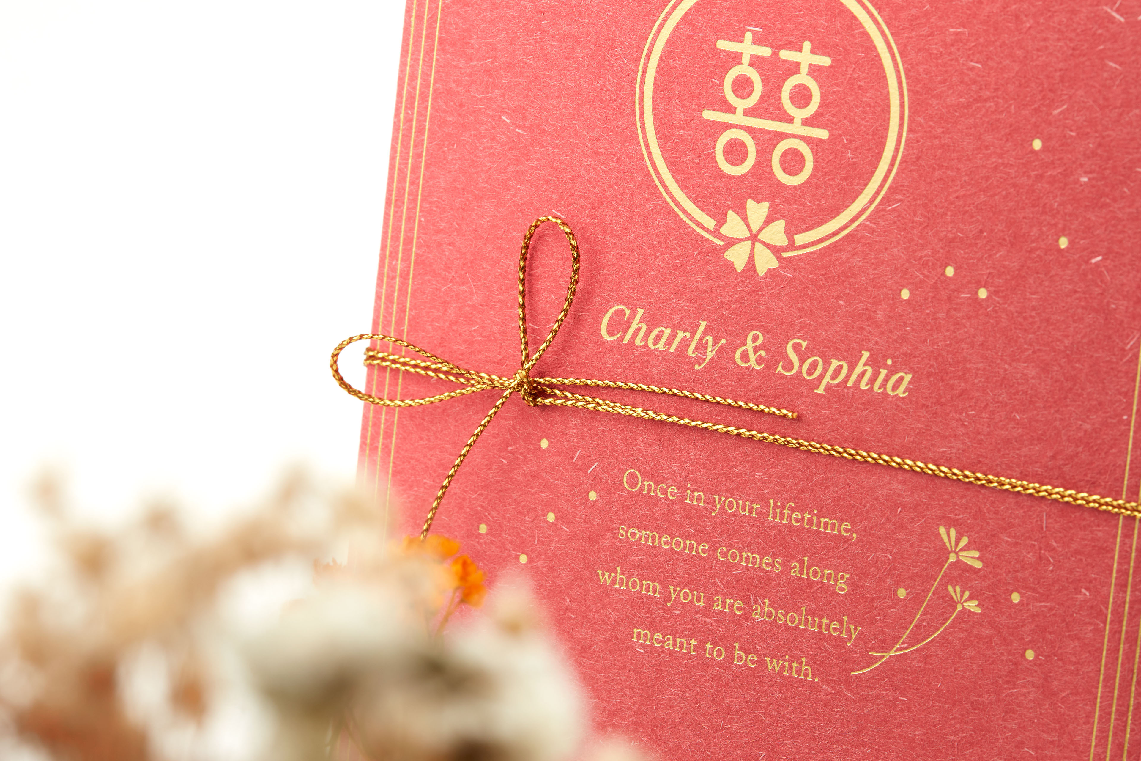 Charly&Sophia Wedding Card on Behance
