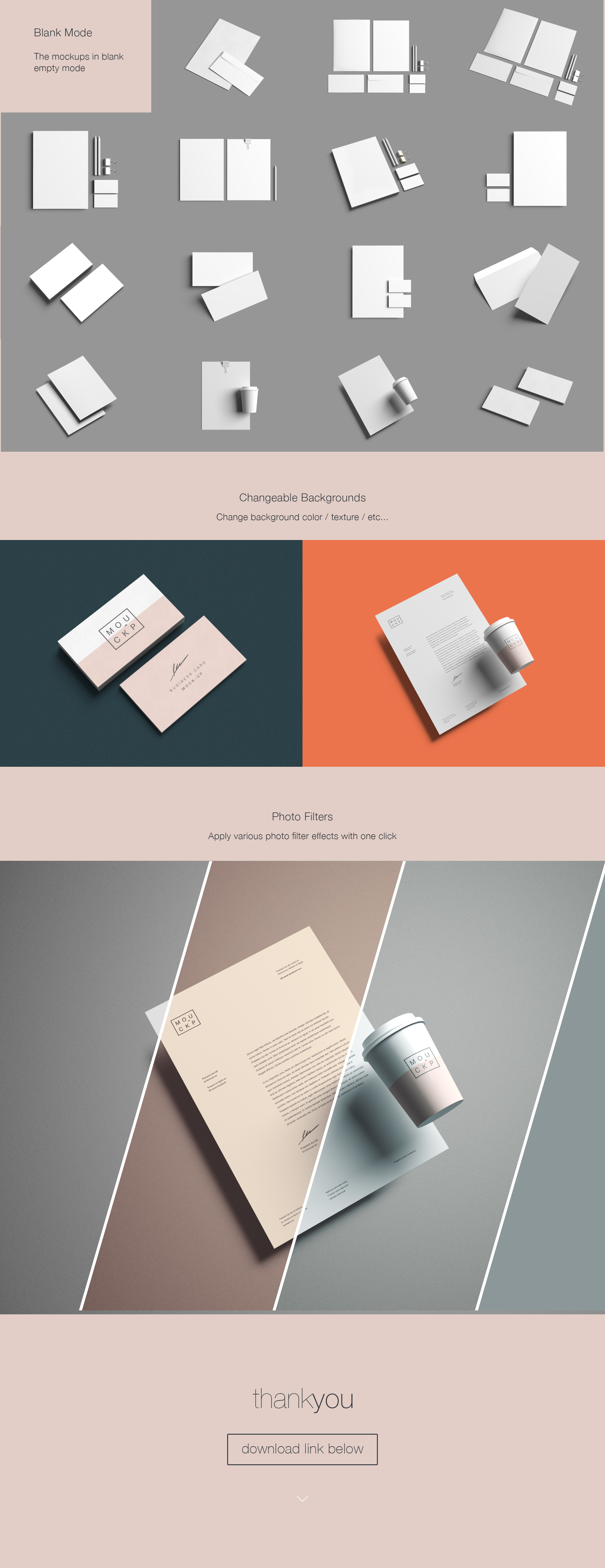 Advanced Branding Stationery Mockup on Behance