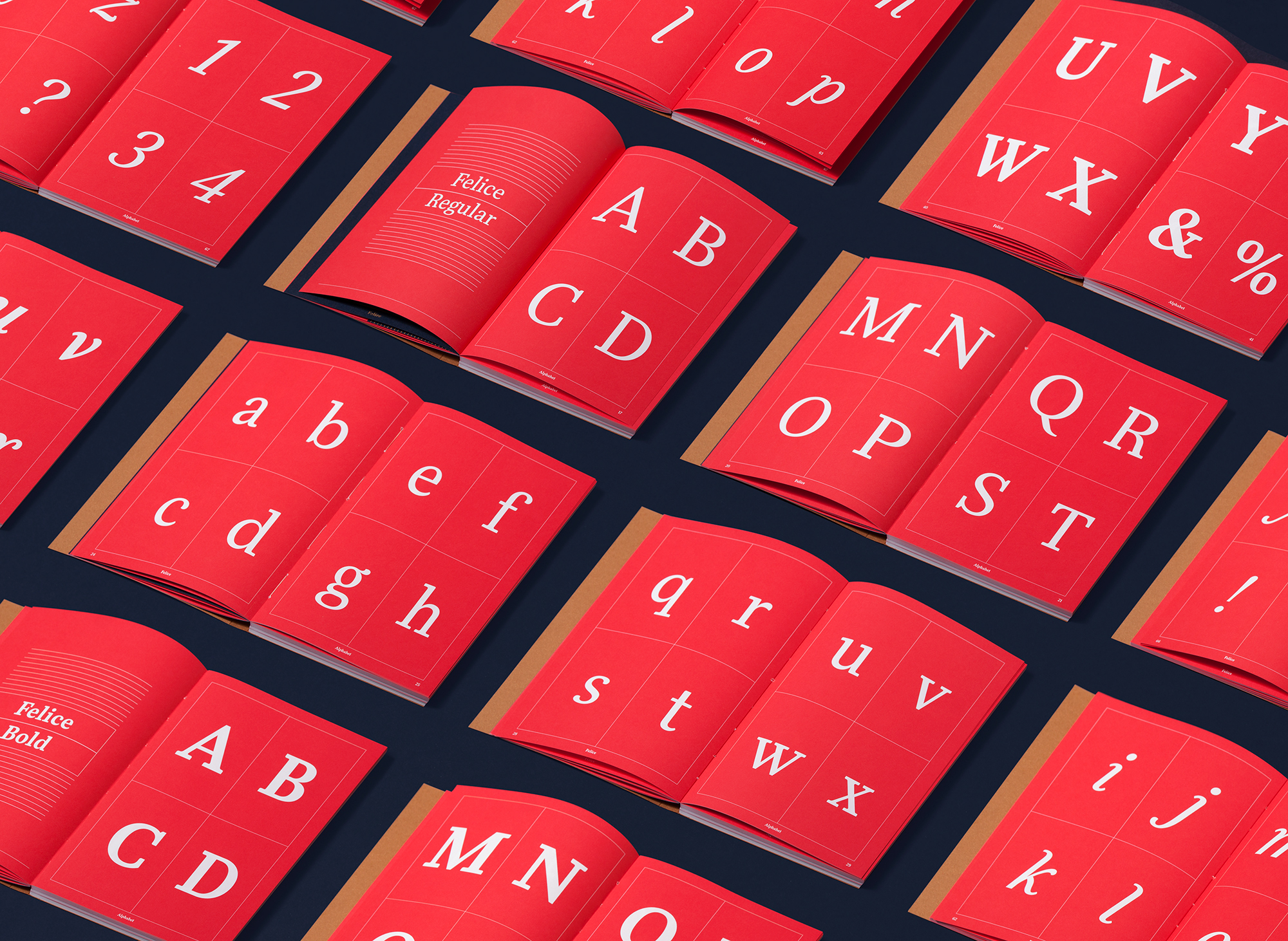 Editorial Design: Typeface Felice the Book