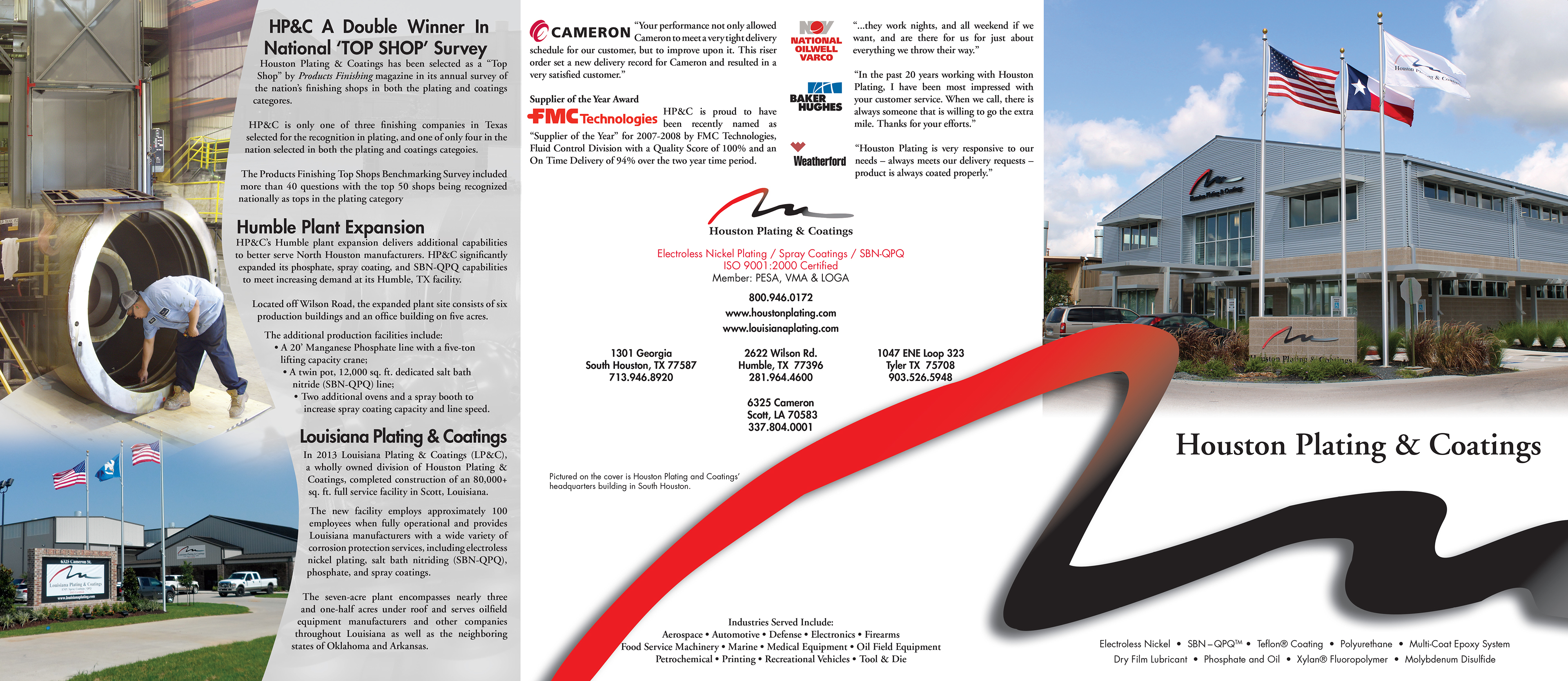 Ventures Marketing Group - Houston Plating & Coating Brochure