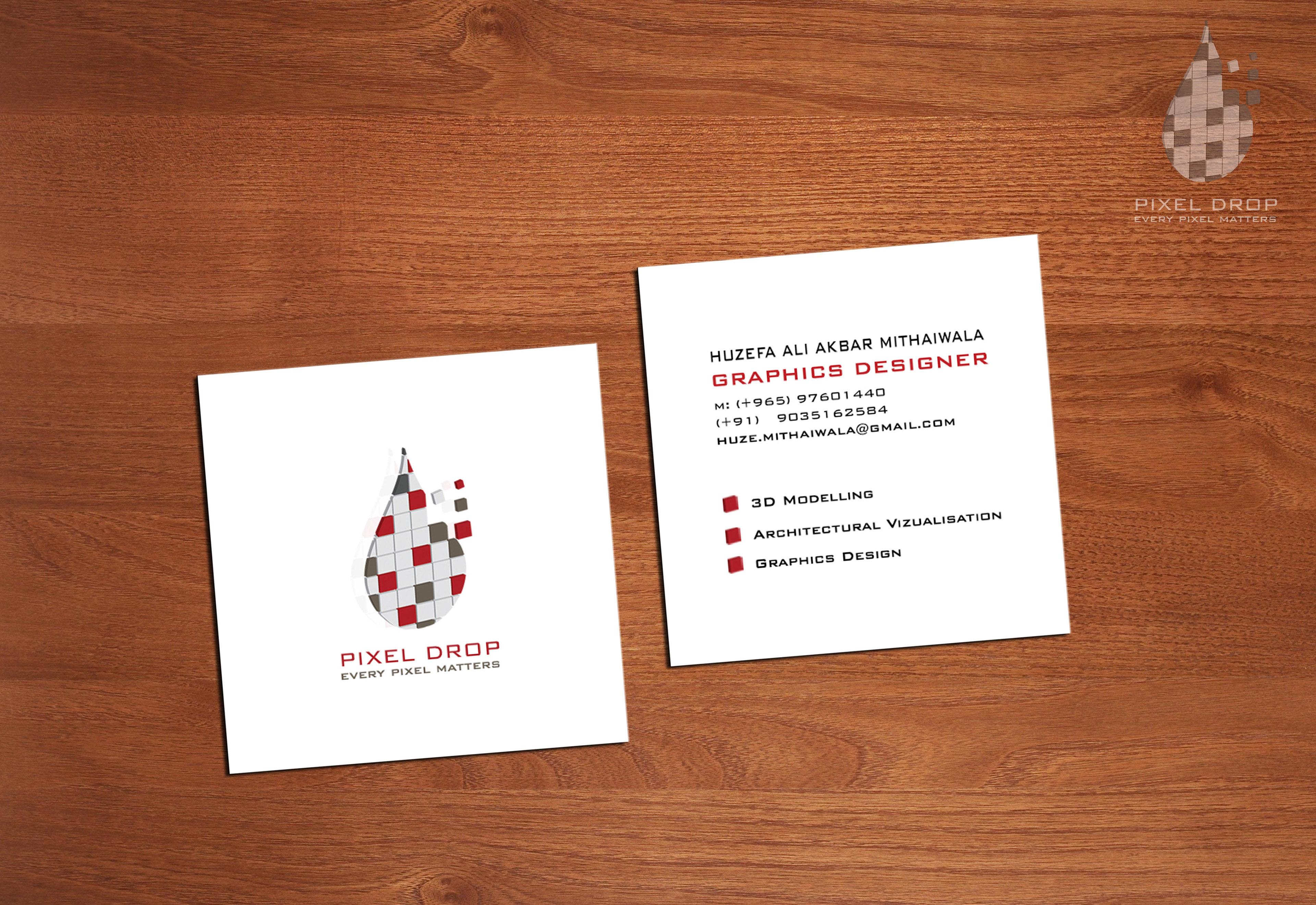 pixel drop kuwait pixel drop studio business card