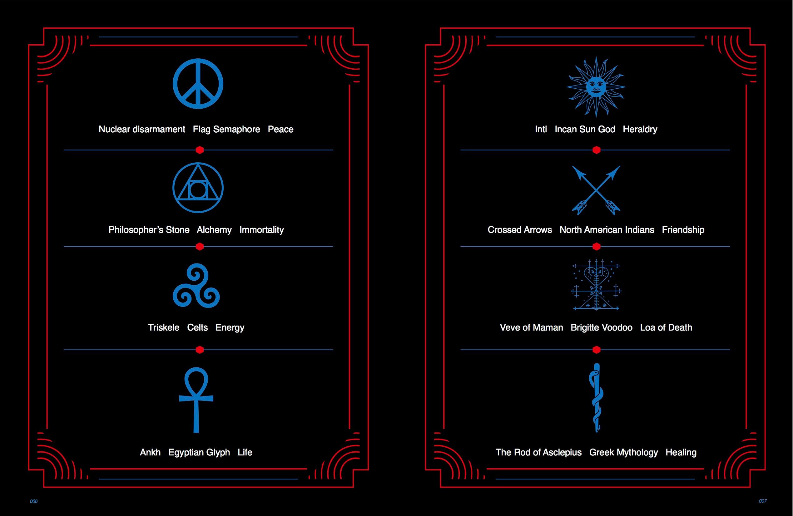Symbols In Graphic Design On Behance
