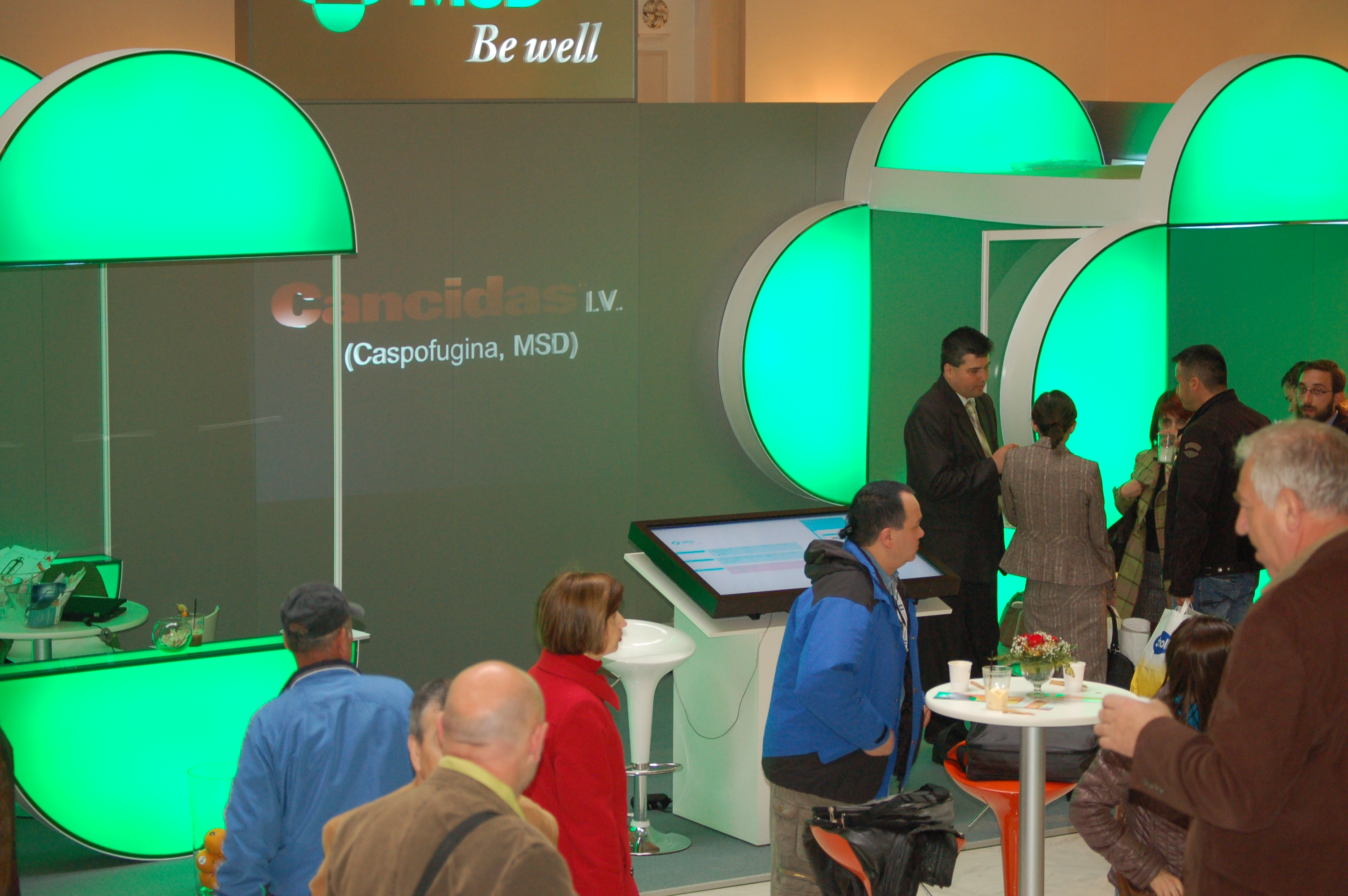 Exhibition Stand Interactive : Evolvemedia msd interactive exhibition stand