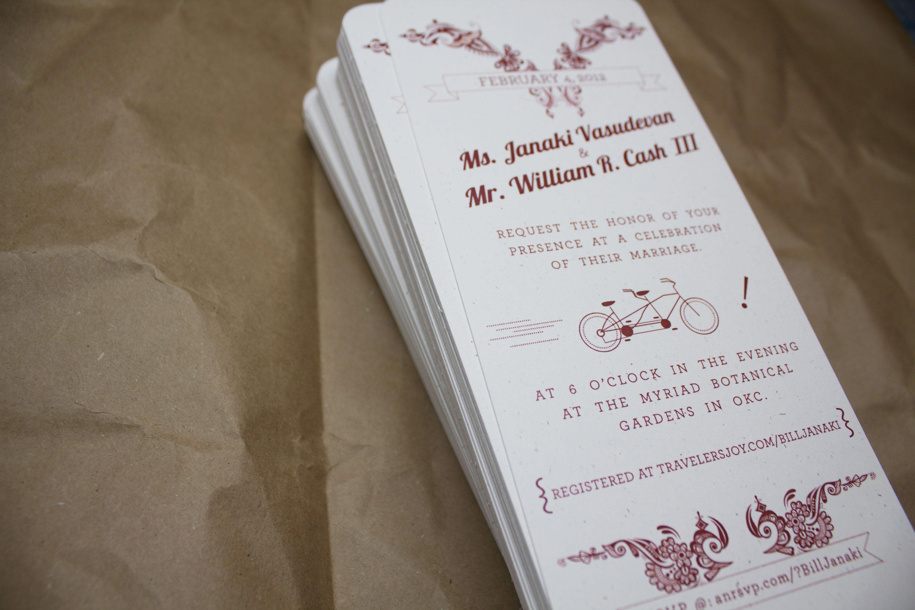 David Duncan - Wedding Invitations // The Perfect Couple