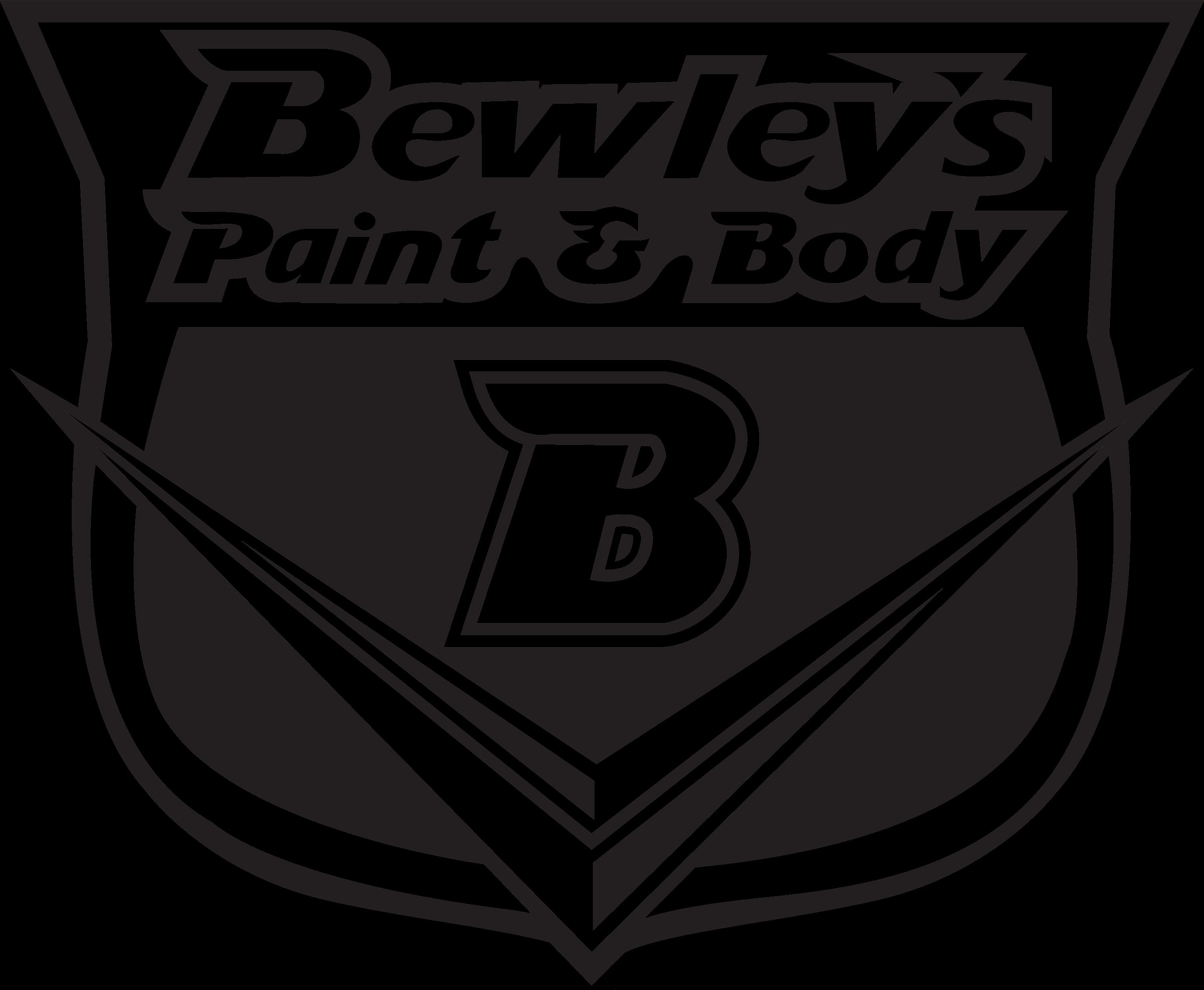 Mitch Moore\'s Artwork Portfolio - Bewley\'s Paint & Body Shop Logo Design