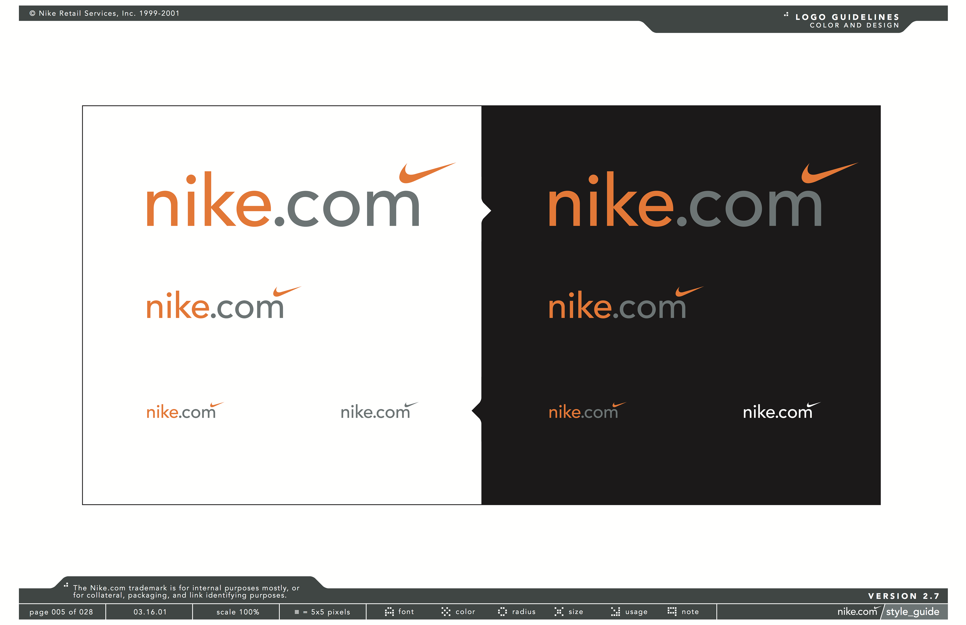 Nike Brand Guidelines Pdf