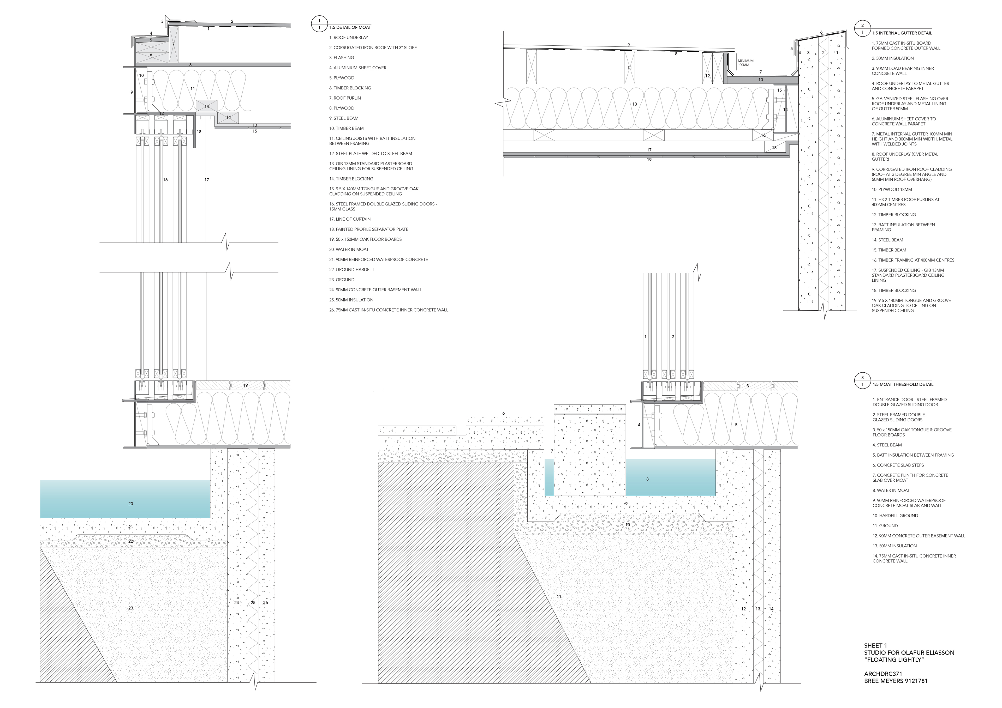 Detailing On Behance Doubleglazingdiagram01jpg
