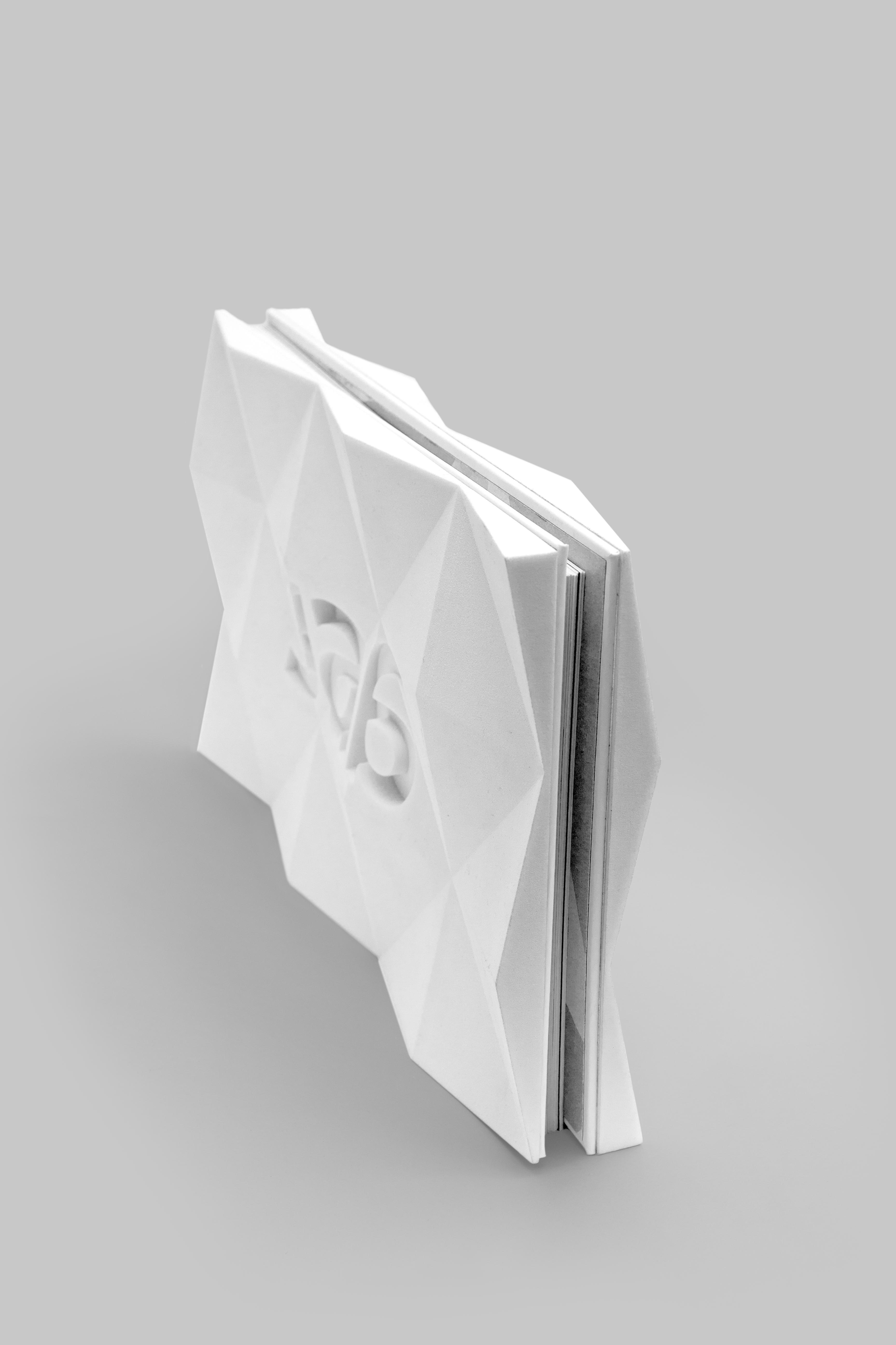 graphic design portfolio book cover 3d printed on behance