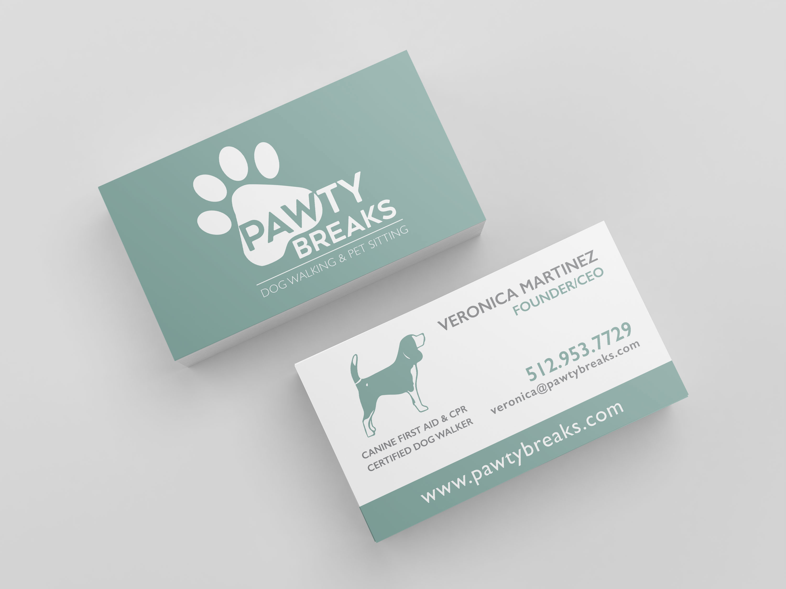 Beautiful Collection Of Pet Sitter Business Cards - Business Cards ...