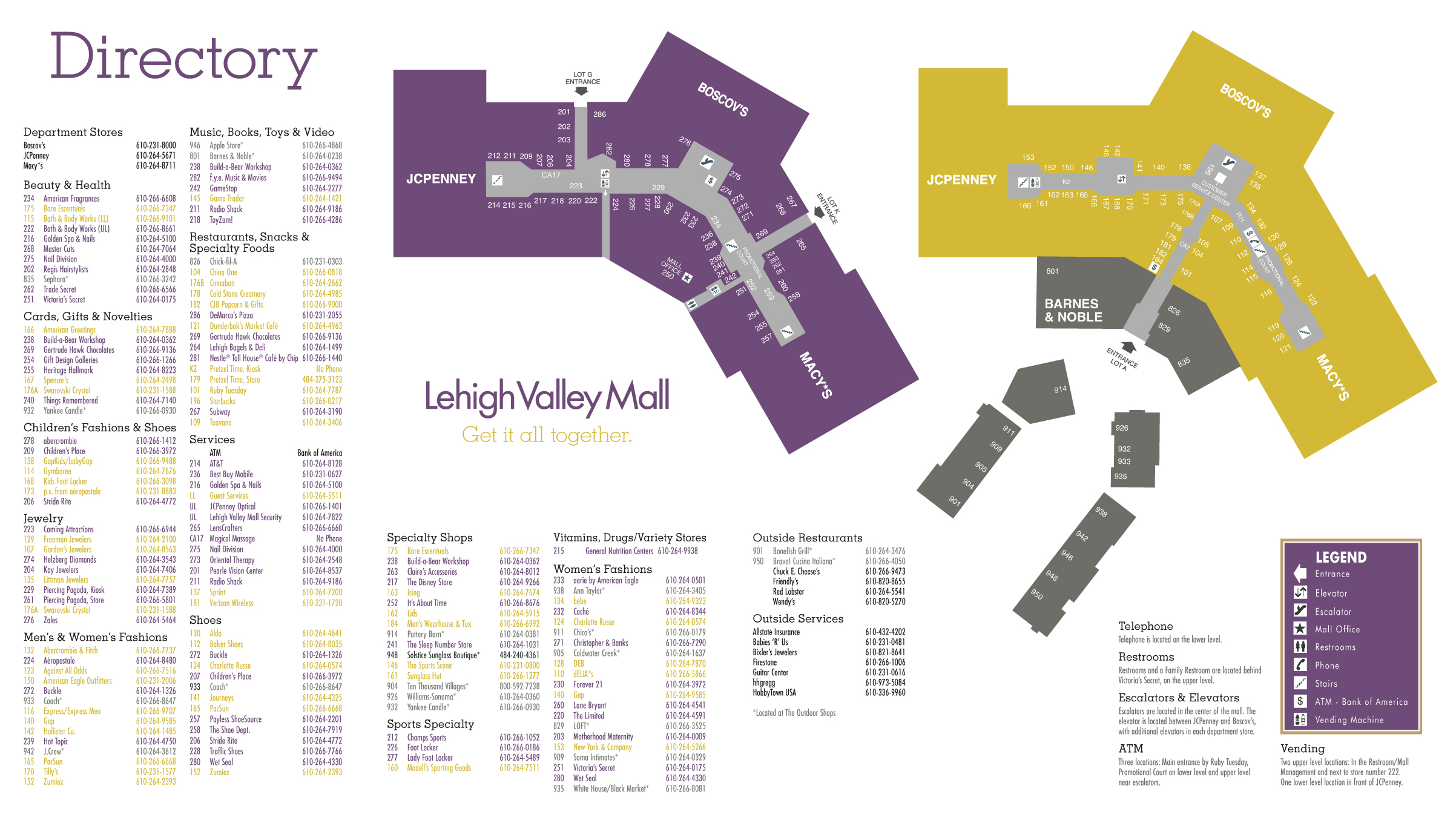 Lehigh Valley Mall Campaign on Behance