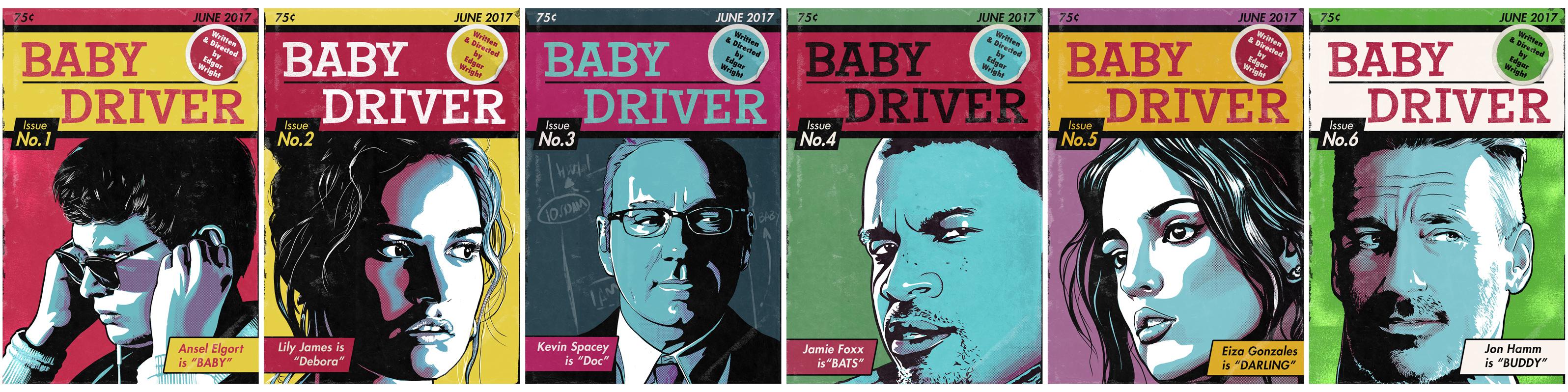 Baby driver movie poster artist