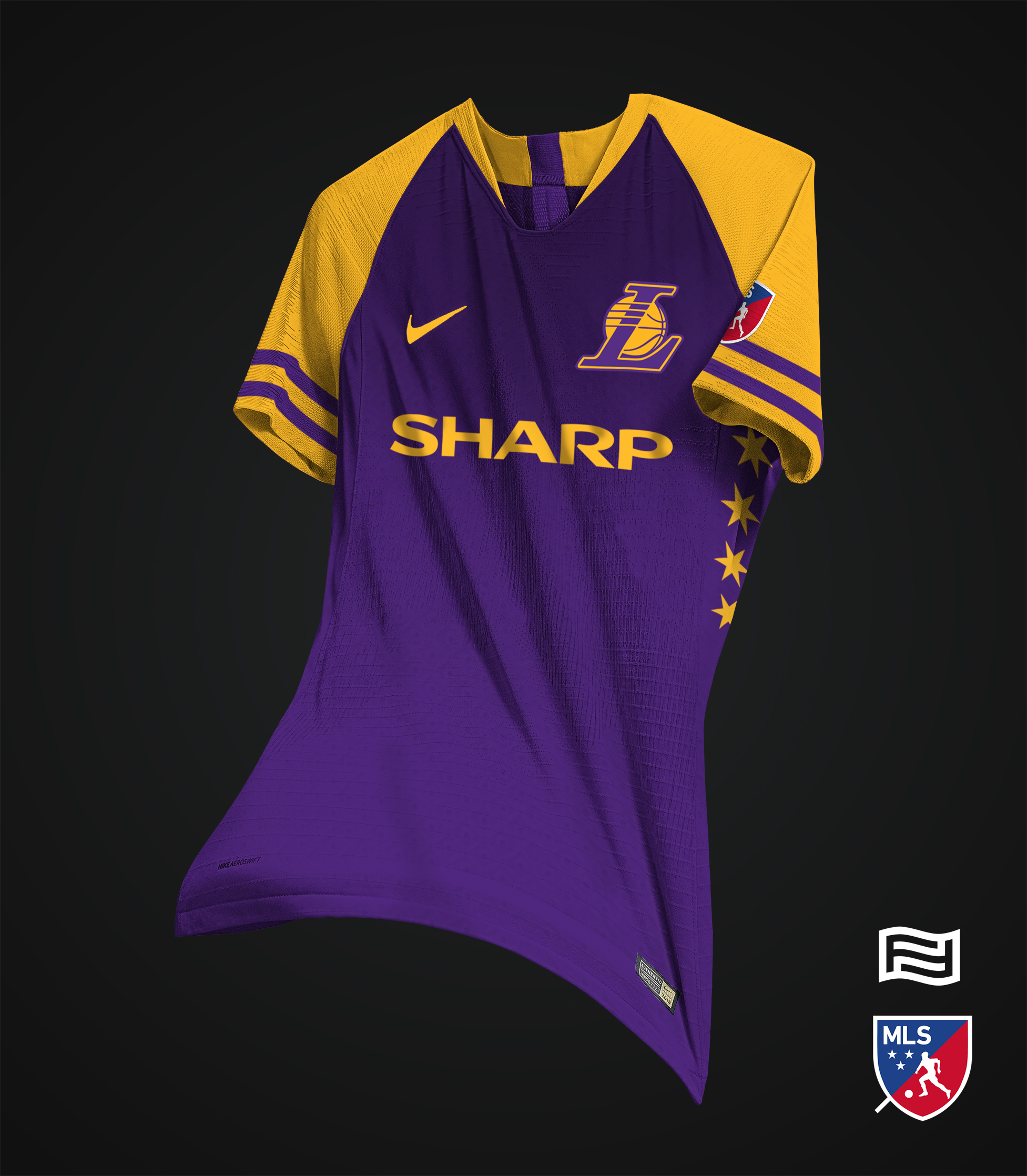 c3a1916e48f2 A graphic designer created soccer jerseys for NBA teams and they re ...
