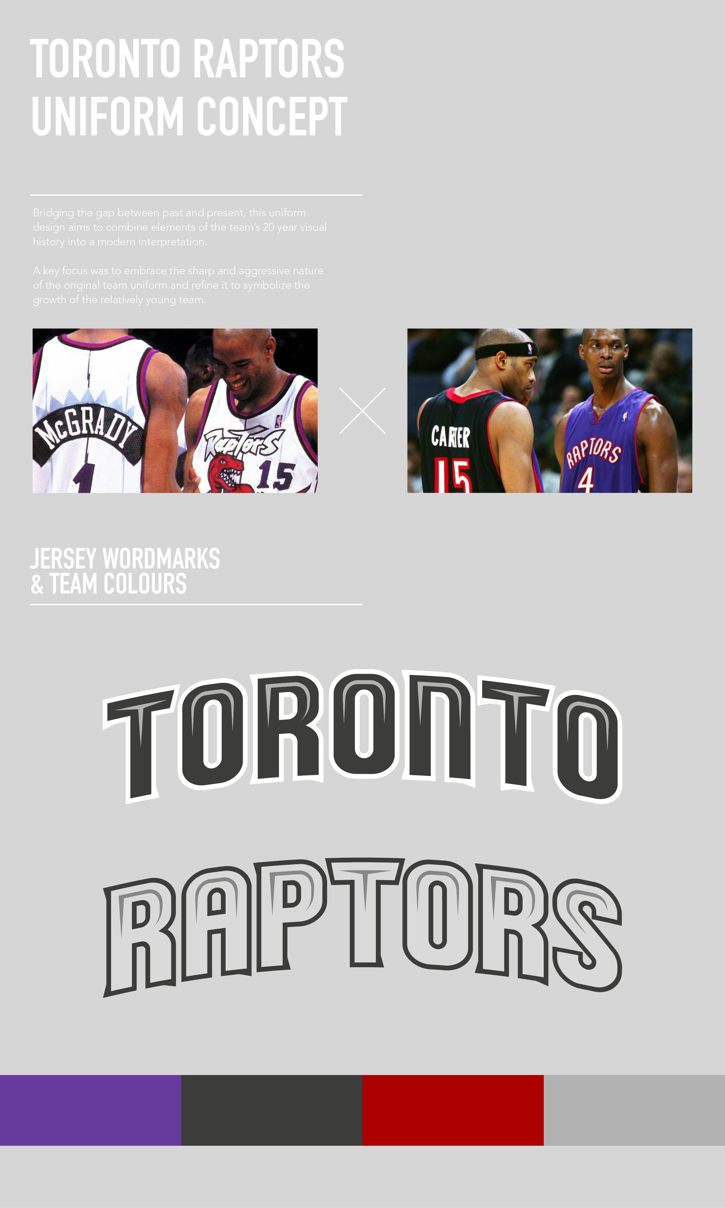 Basketball UniformsRaptors Toronto Raptors Uniform Concept on Behance ... 778041f65