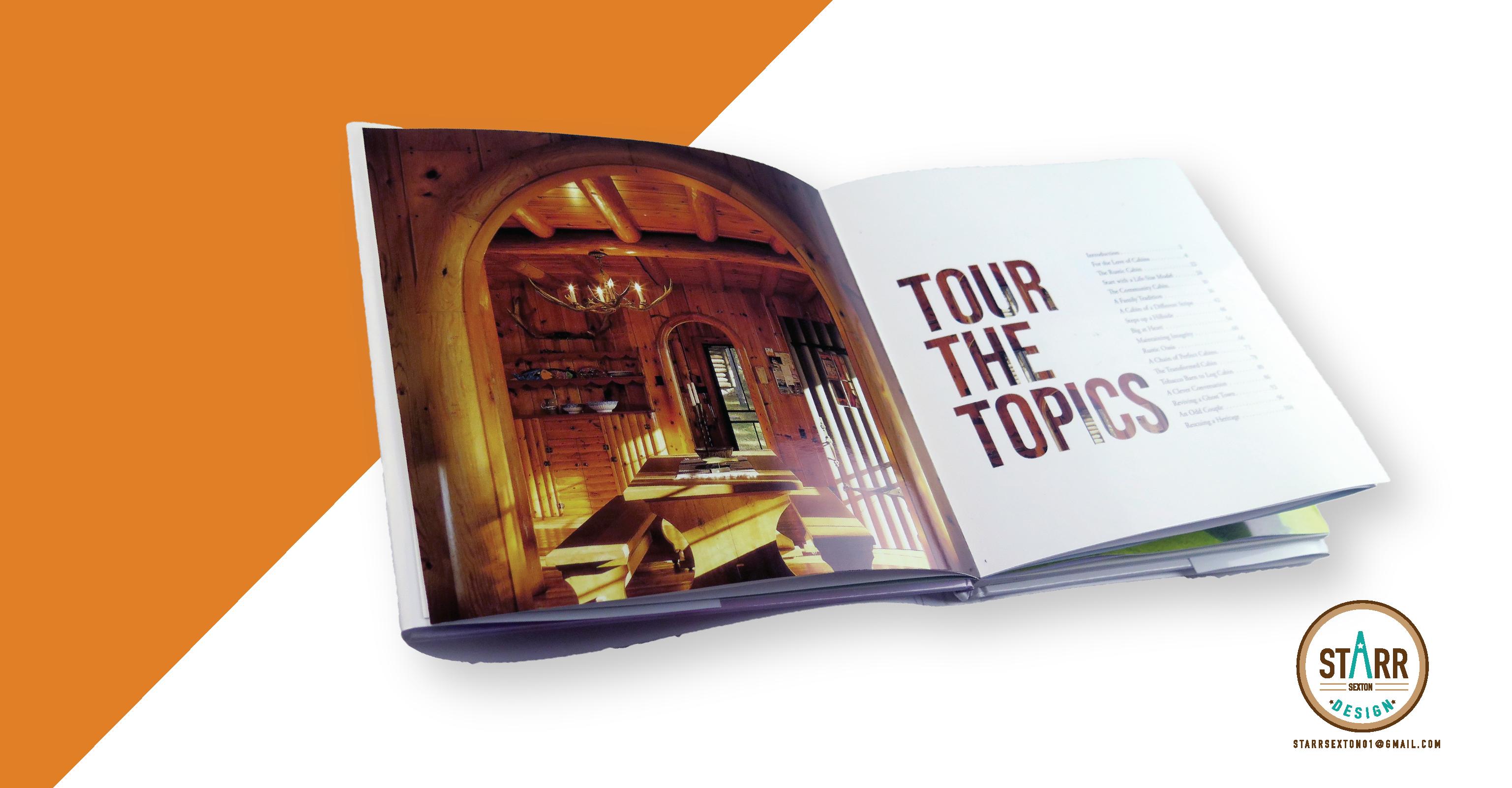 Amanda ton Cabin Coffee Table Book