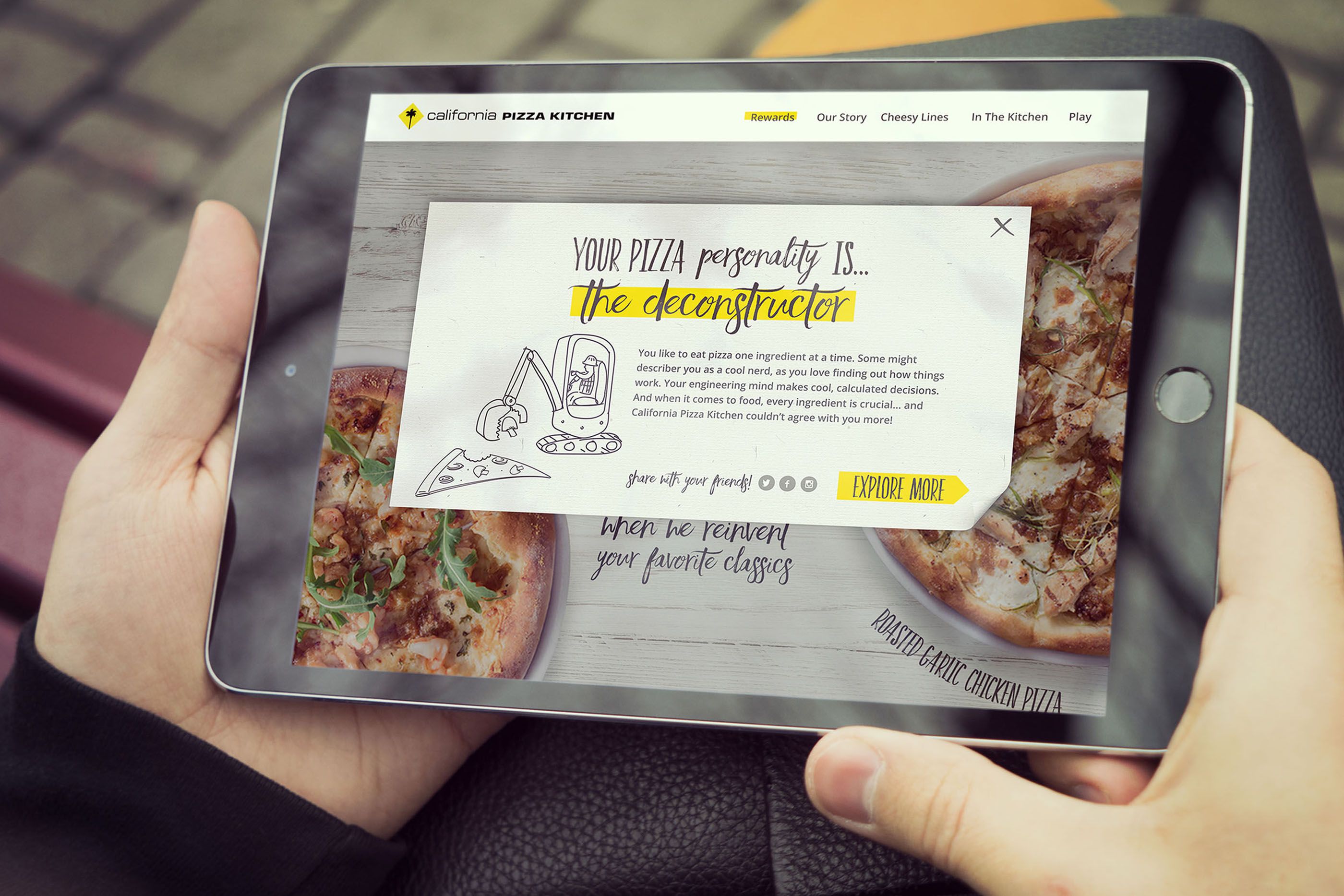California Pizza Kitchen Digital Campaign on Behance