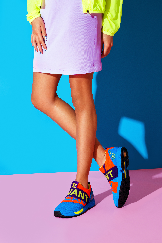 9ad58880818e1 Adidas Zx Flux Nps Dark Cargo Unisex Sports Office Shoes